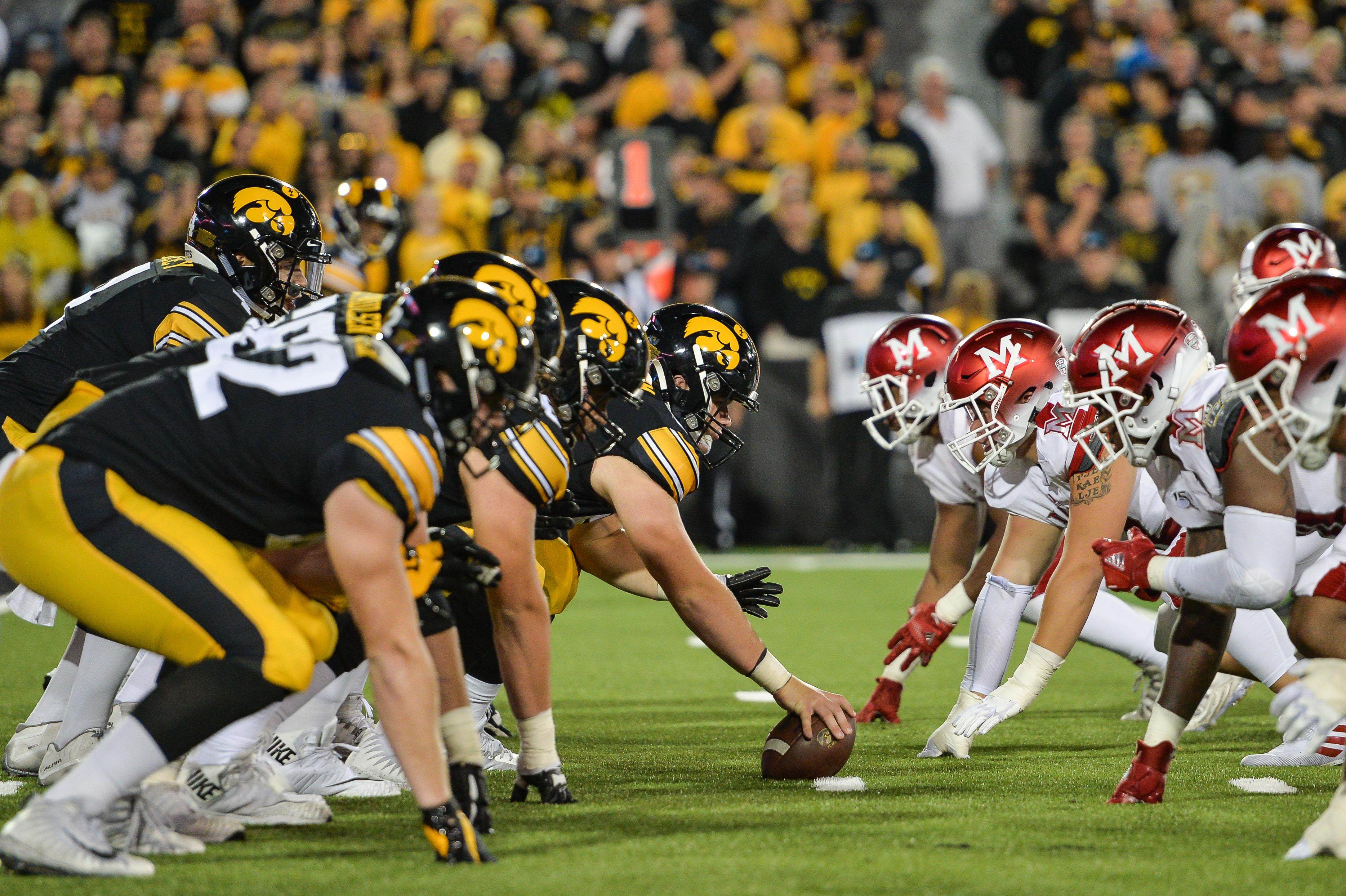 NCAA Football: Miami (Ohio) at Iowa