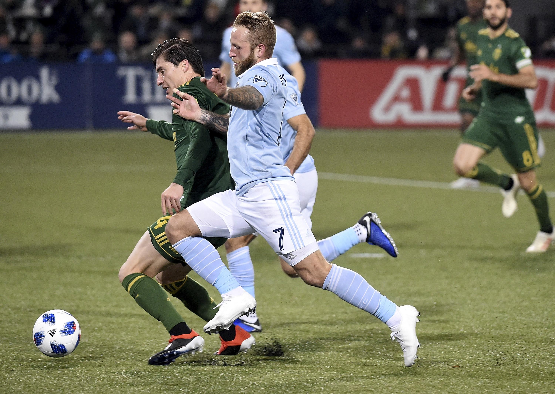 Sporting Kansas City v Portland Timbers: Western Conference Finals - Leg 1