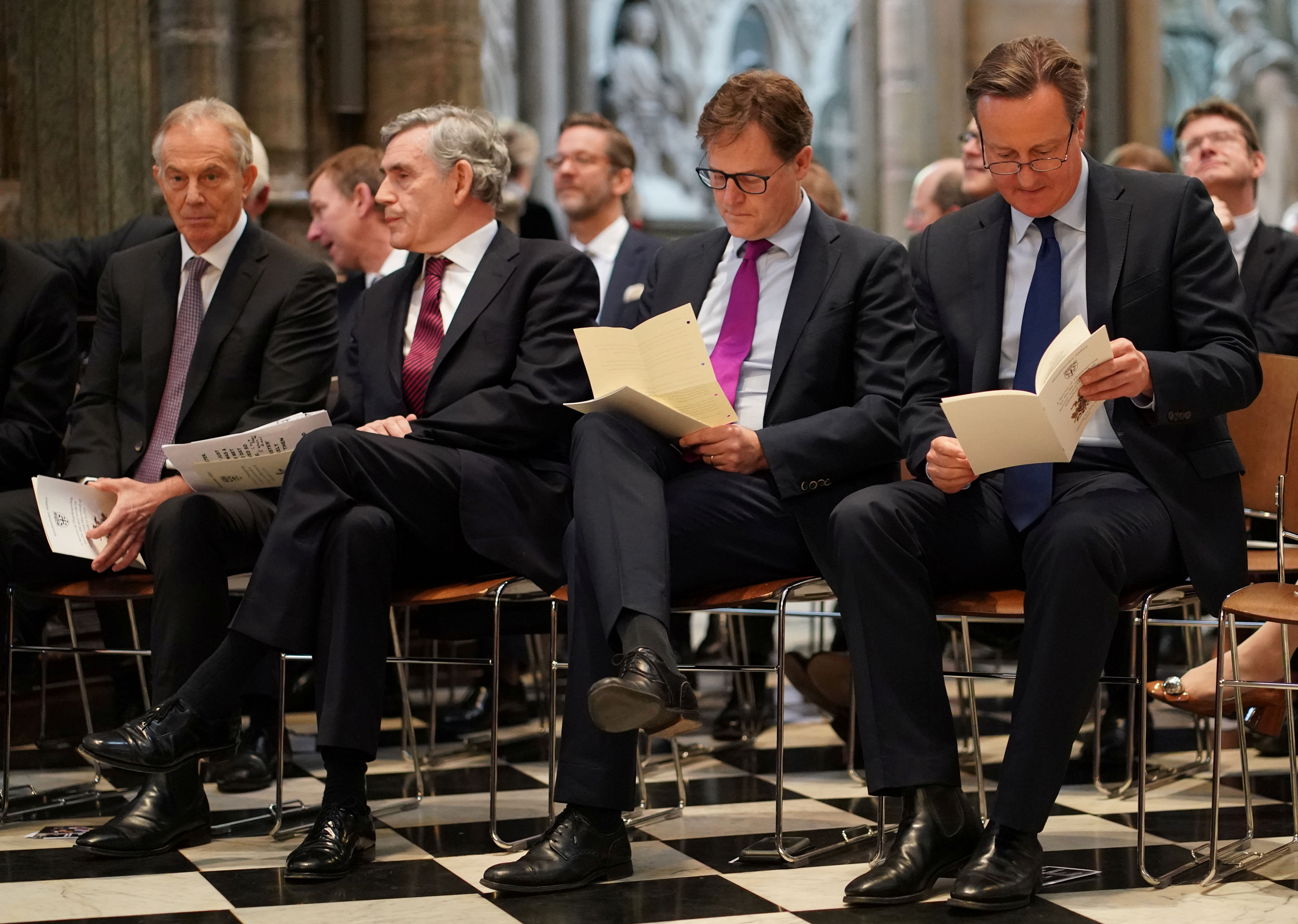 Service Of Thanksgiving To Remember The Life Of Lord Jeremy Heywood