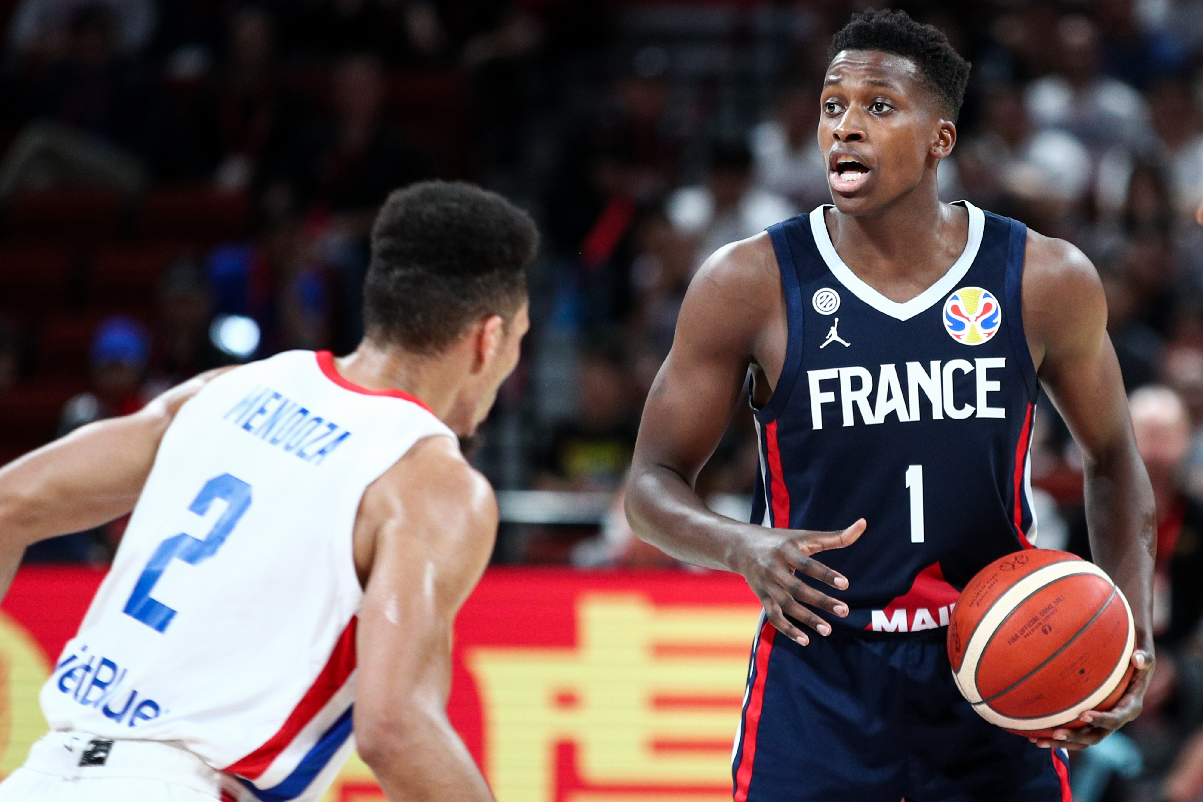 Dominican Rep v France: Group G - FIBA World Cup 2019