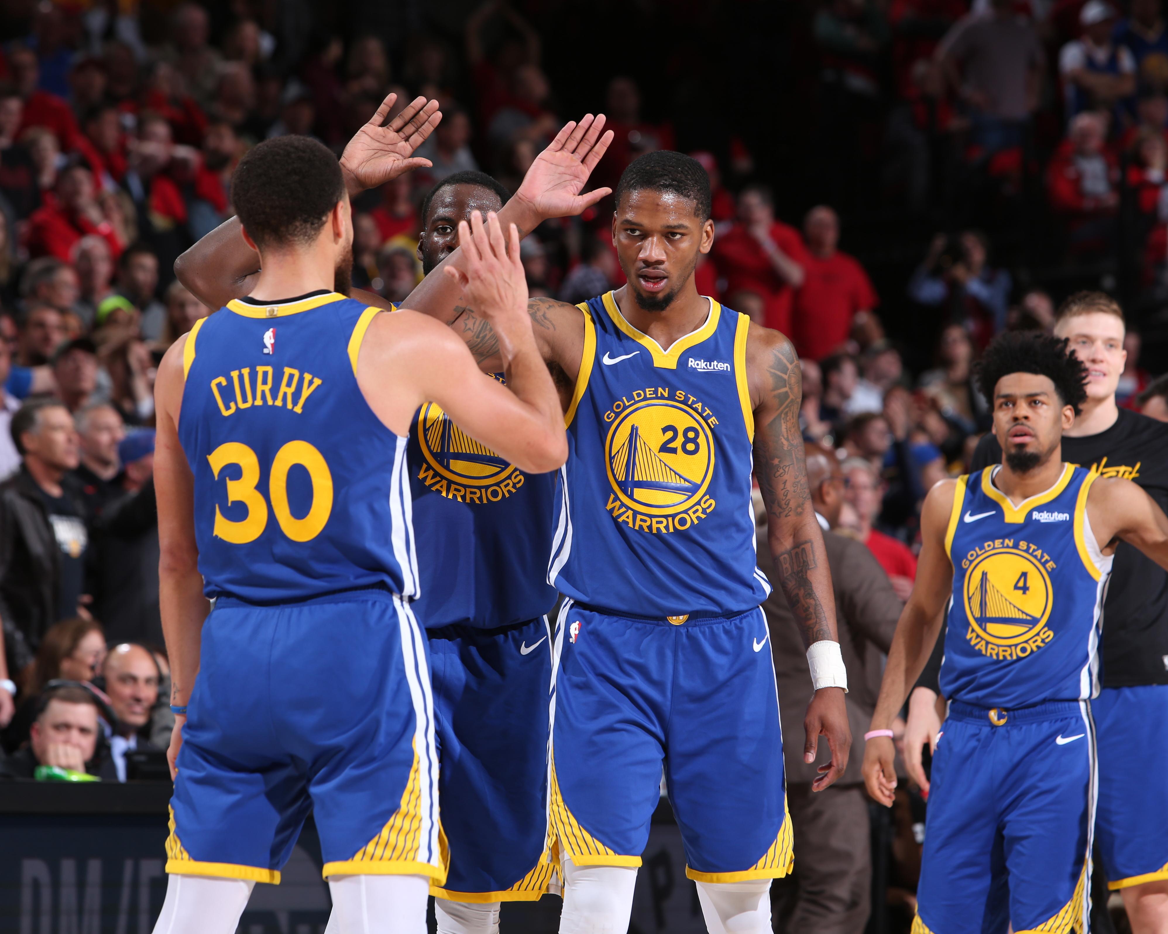 Western Conference Finals - Golden State Warriors v Portland Trail Blazers