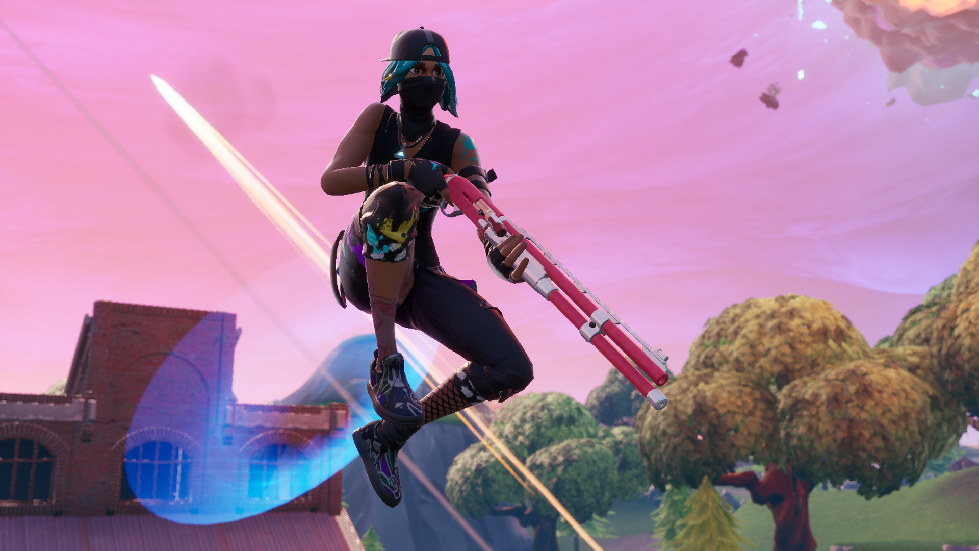 Fortnite hotfix removes the Combat Shotgun