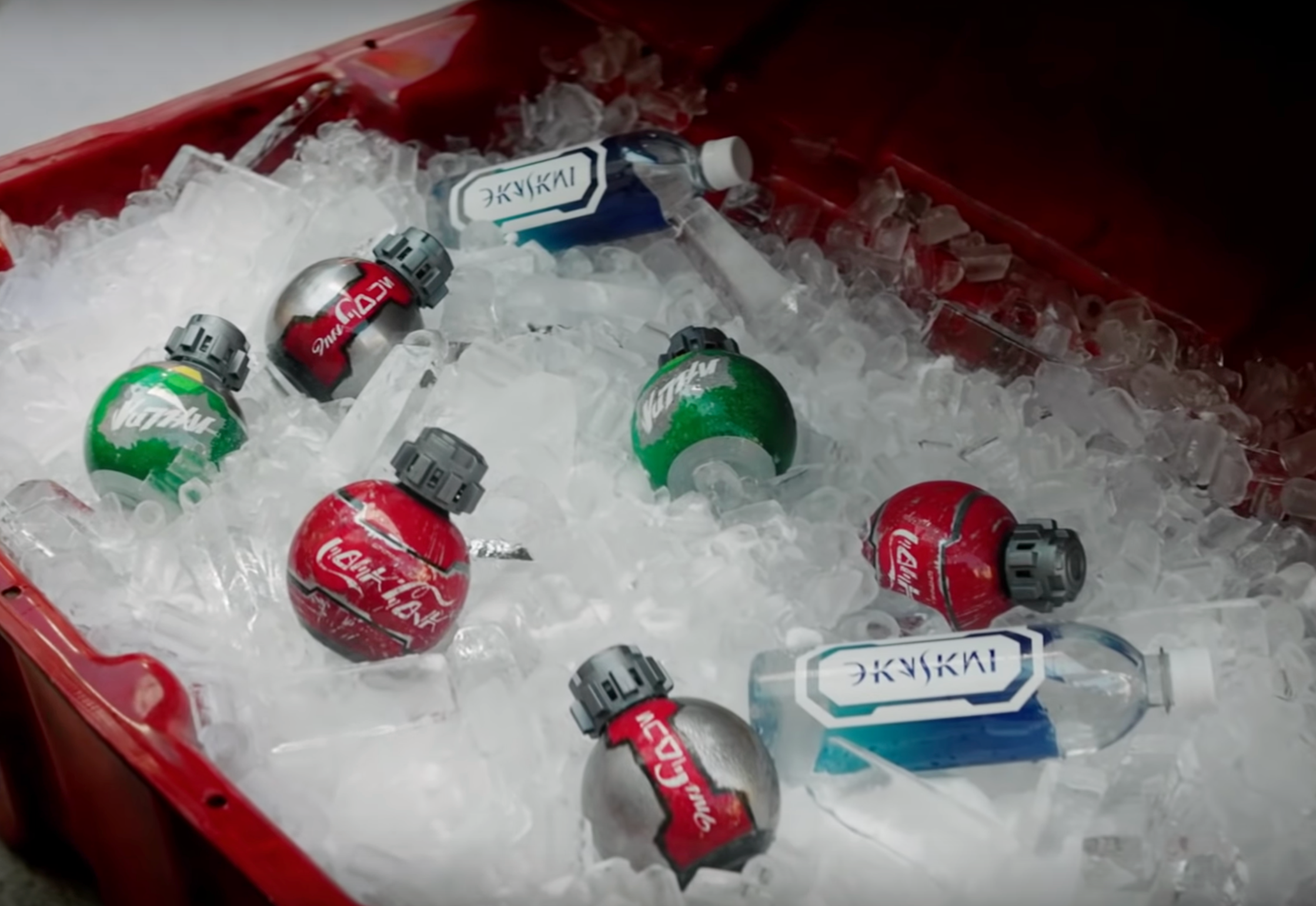 Congrats, Nerds, You Can Now Take Disney's Grenade-Shaped Star Wars Sodas on Planes
