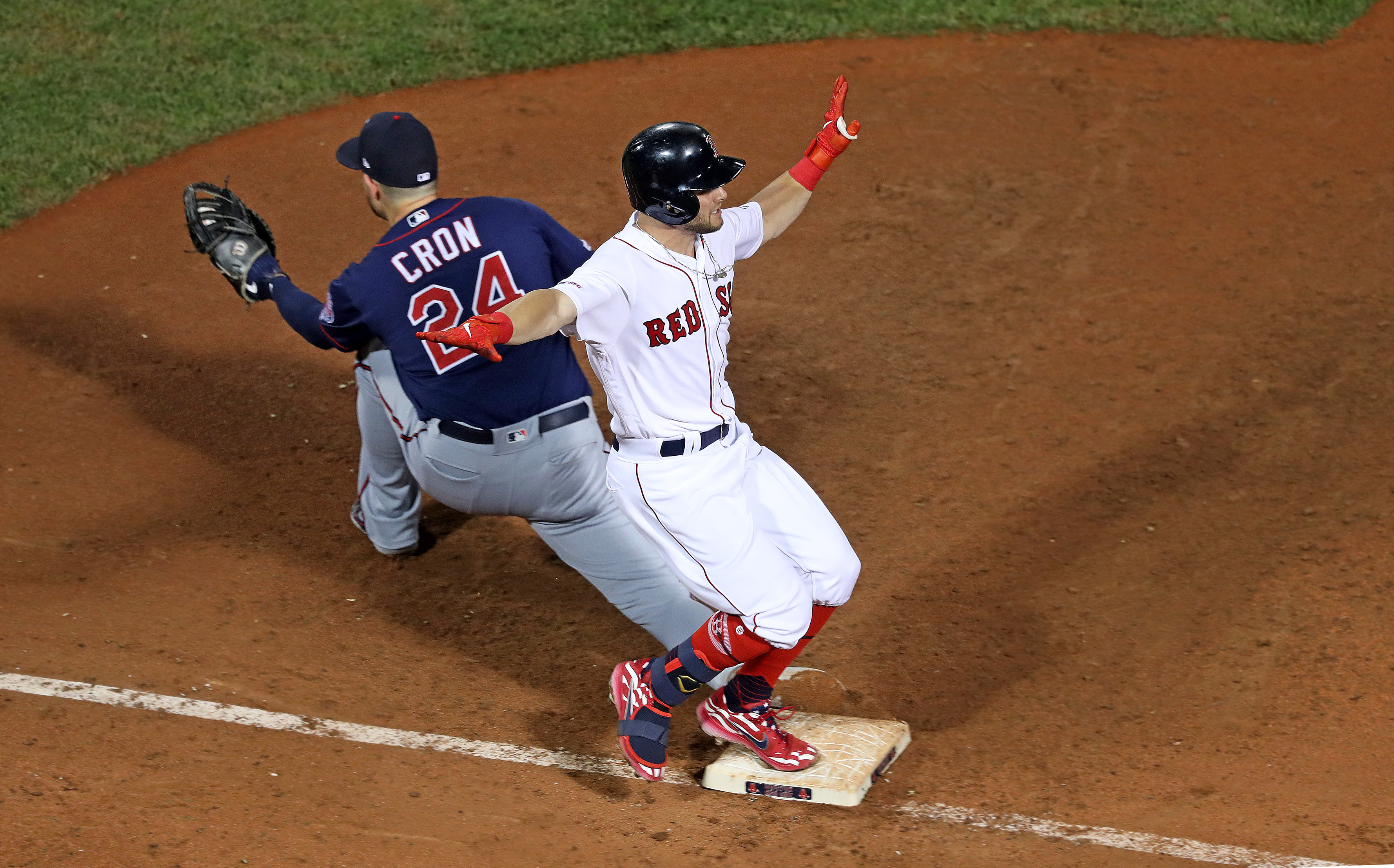 Minnesota Twins Vs. Boston Red Sox At Fenway Park