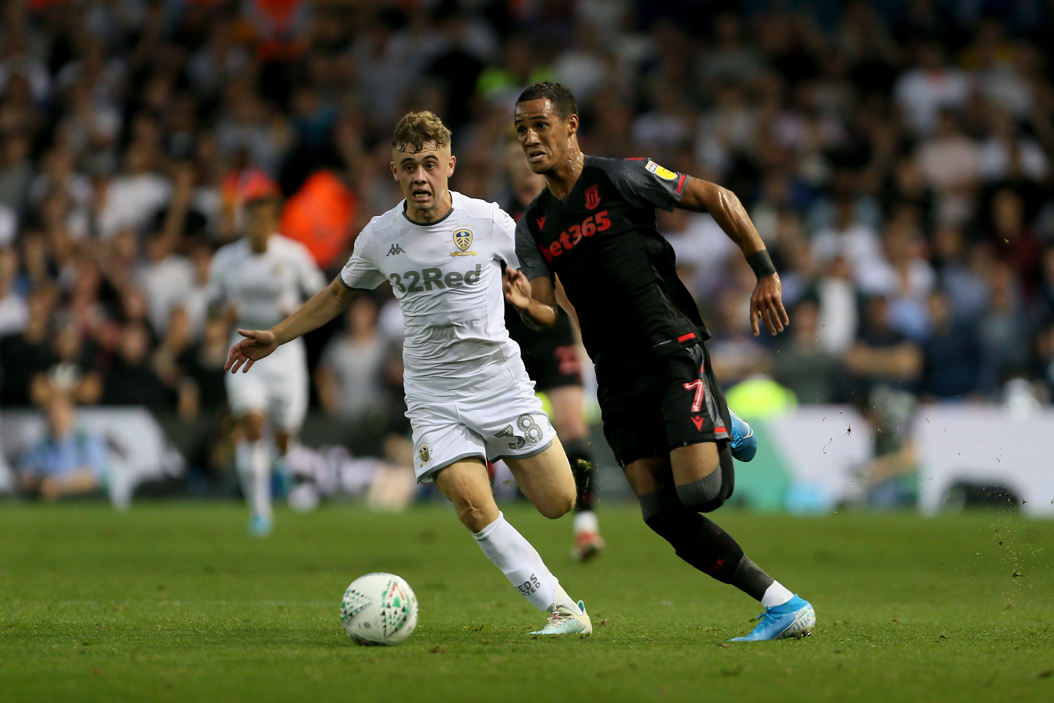 Leeds United v Stoke City - Carabao Cup - Second Round - Elland Road