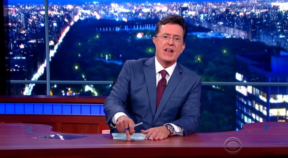 Watch some of our favorite clips from Stephen Colbert's debut as the host of the Late Show
