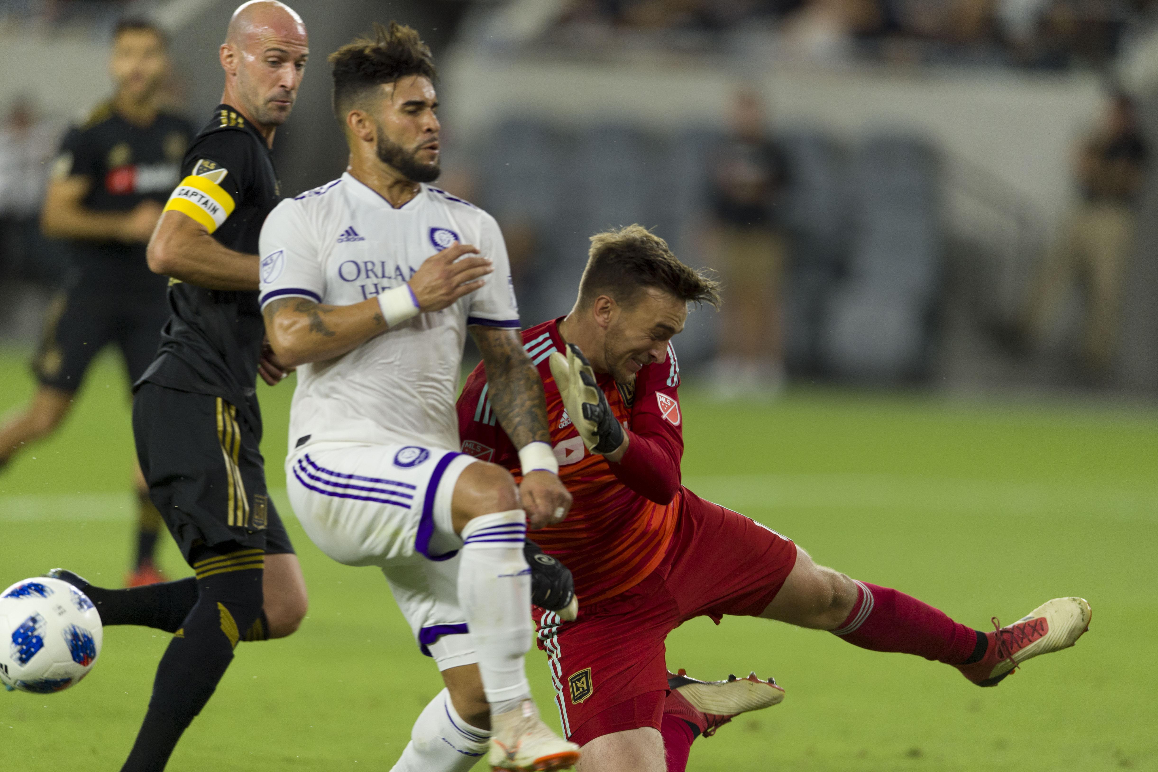 MLS: Orlando City SC at Los Angeles FC