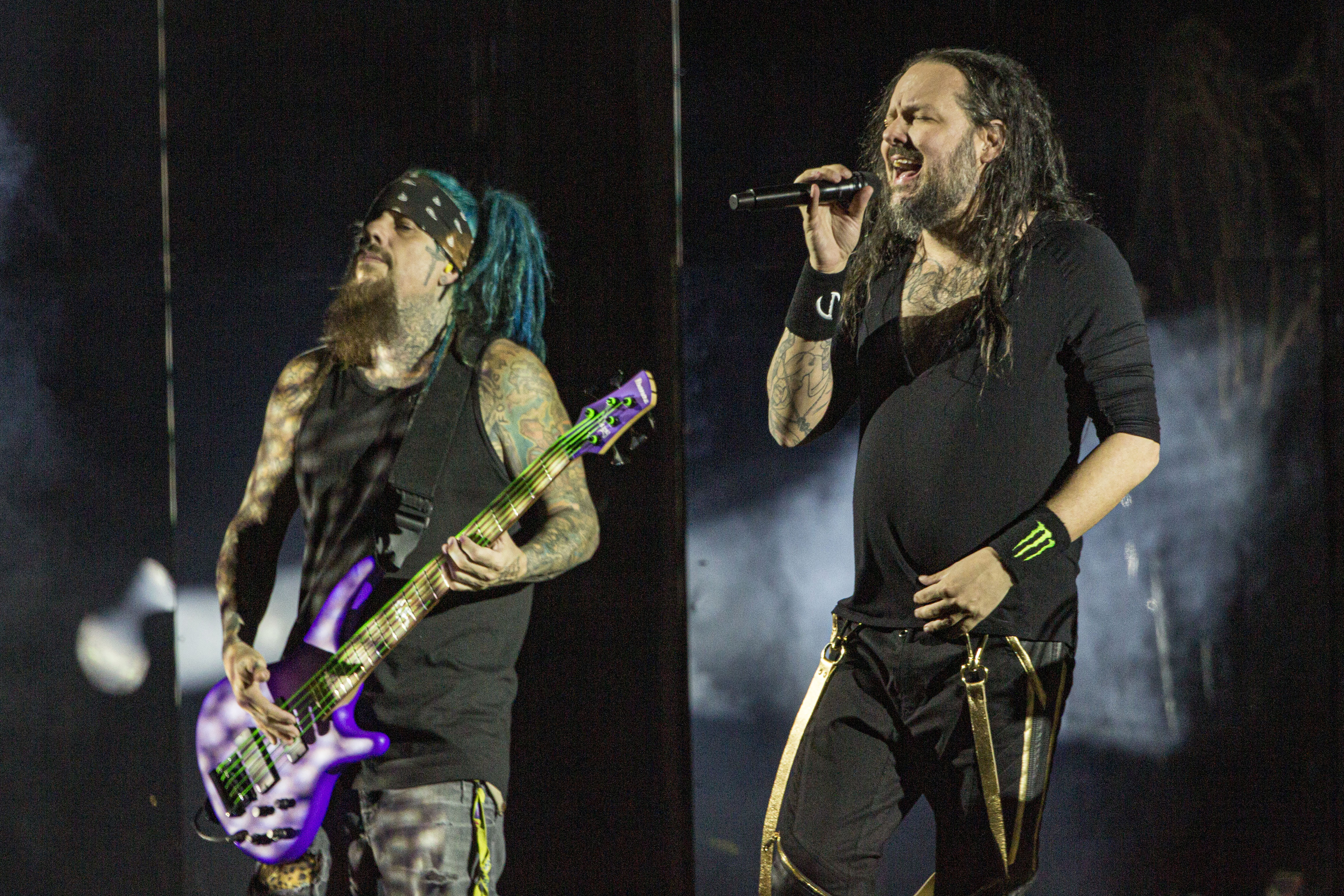 Korn Performs At North Island Credit Union Amphitheatre