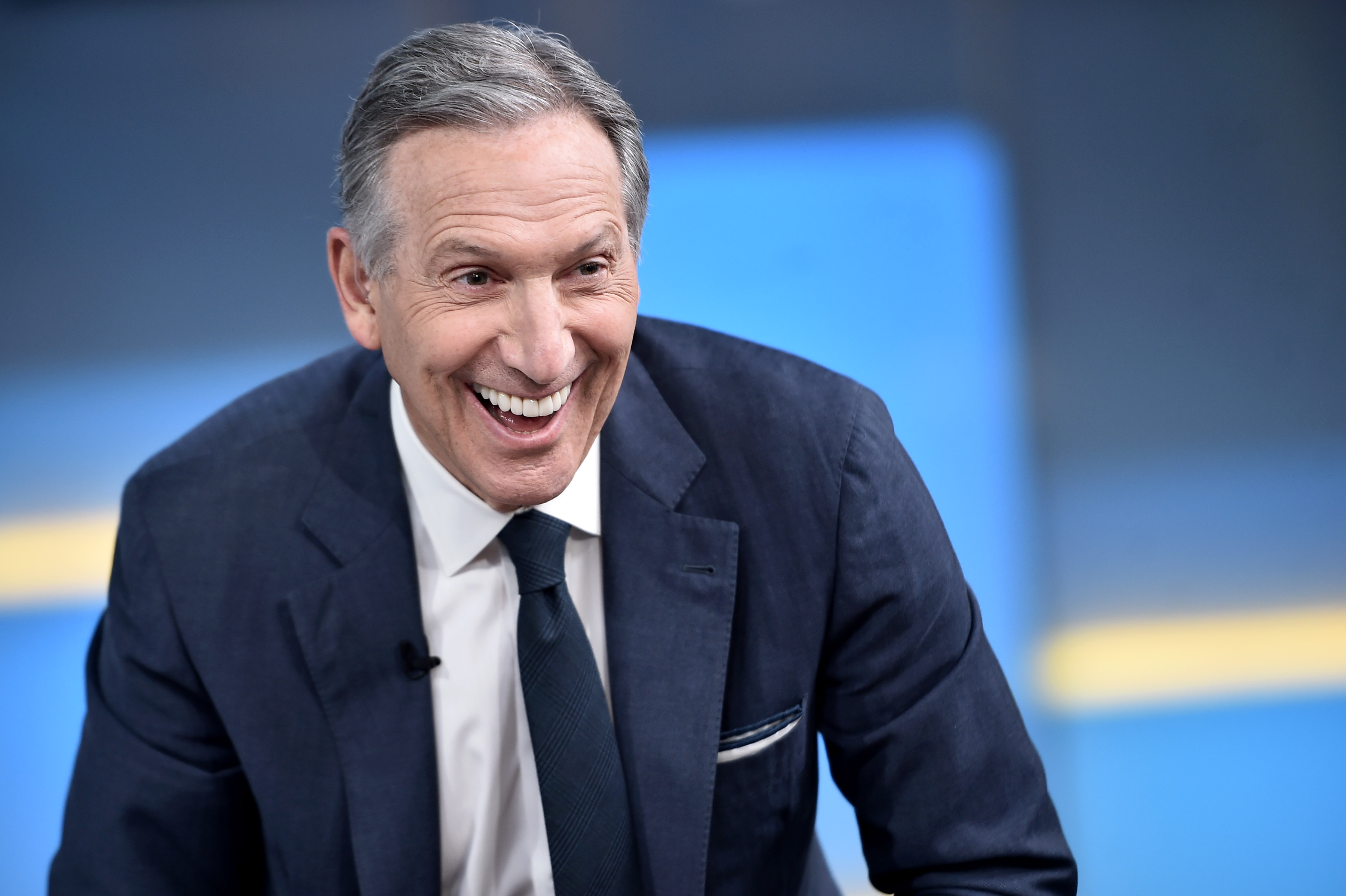 Starbucks's Howard Schultz Customizes His Presidential Bid: I Quit