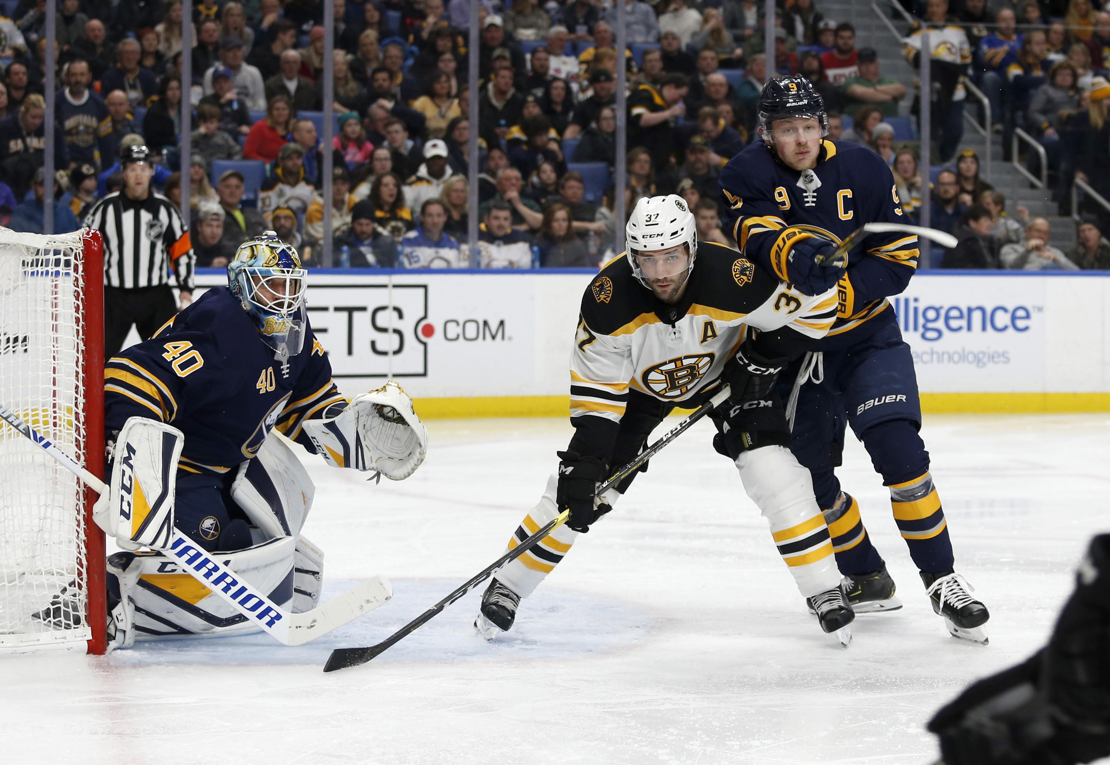 NHL: Boston Bruins at Buffalo Sabres