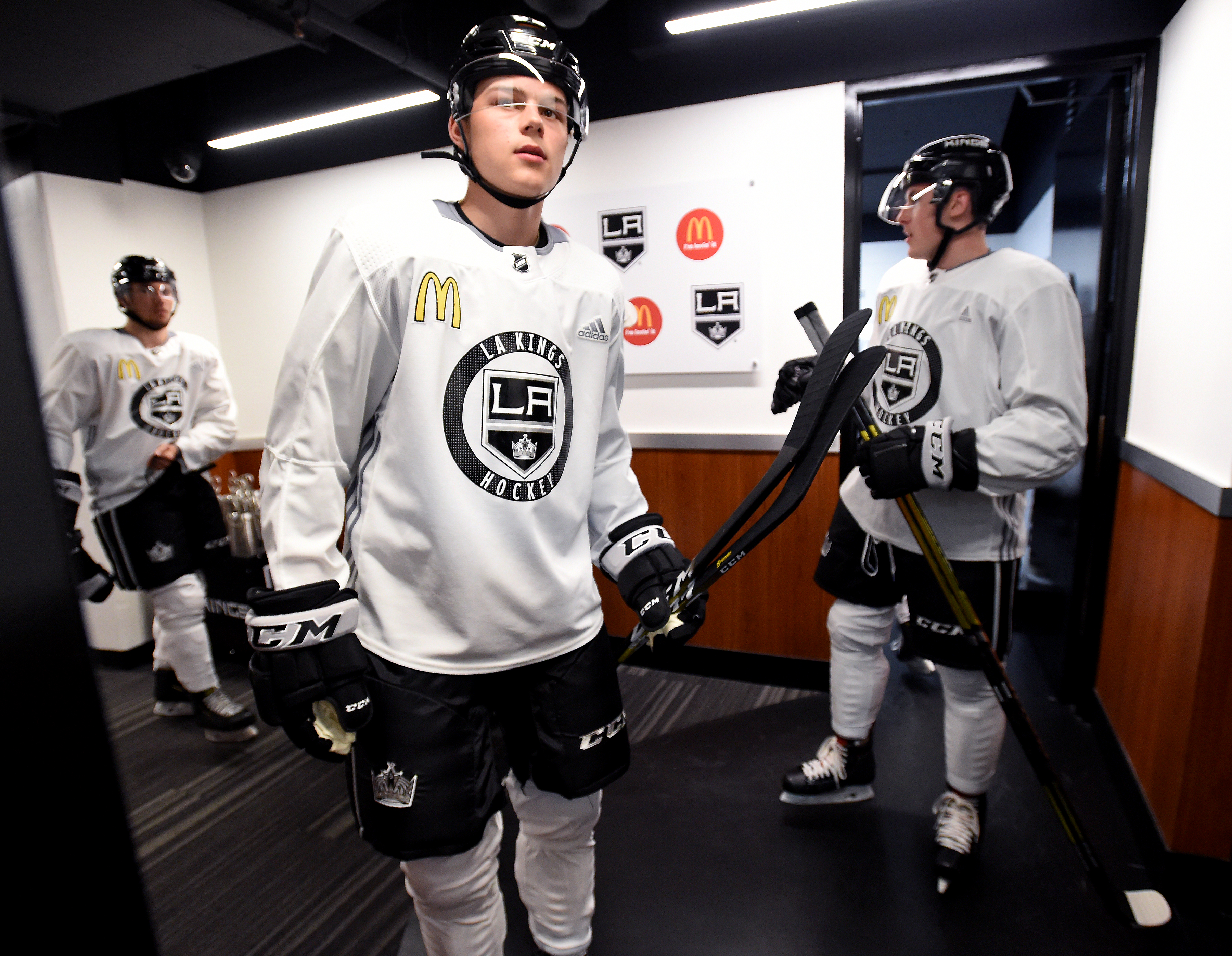Los Angeles Kings In The Pipeline Scrimmage