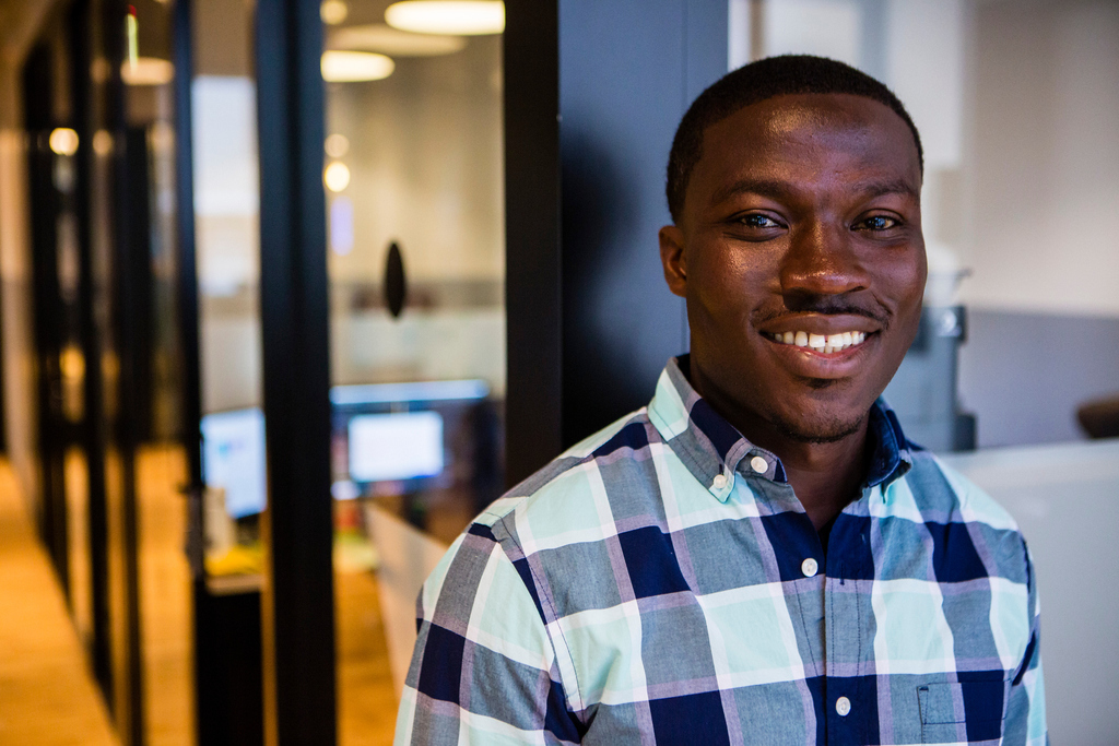 Kwaku Owusu, co-founder and CEO of Drugviu.