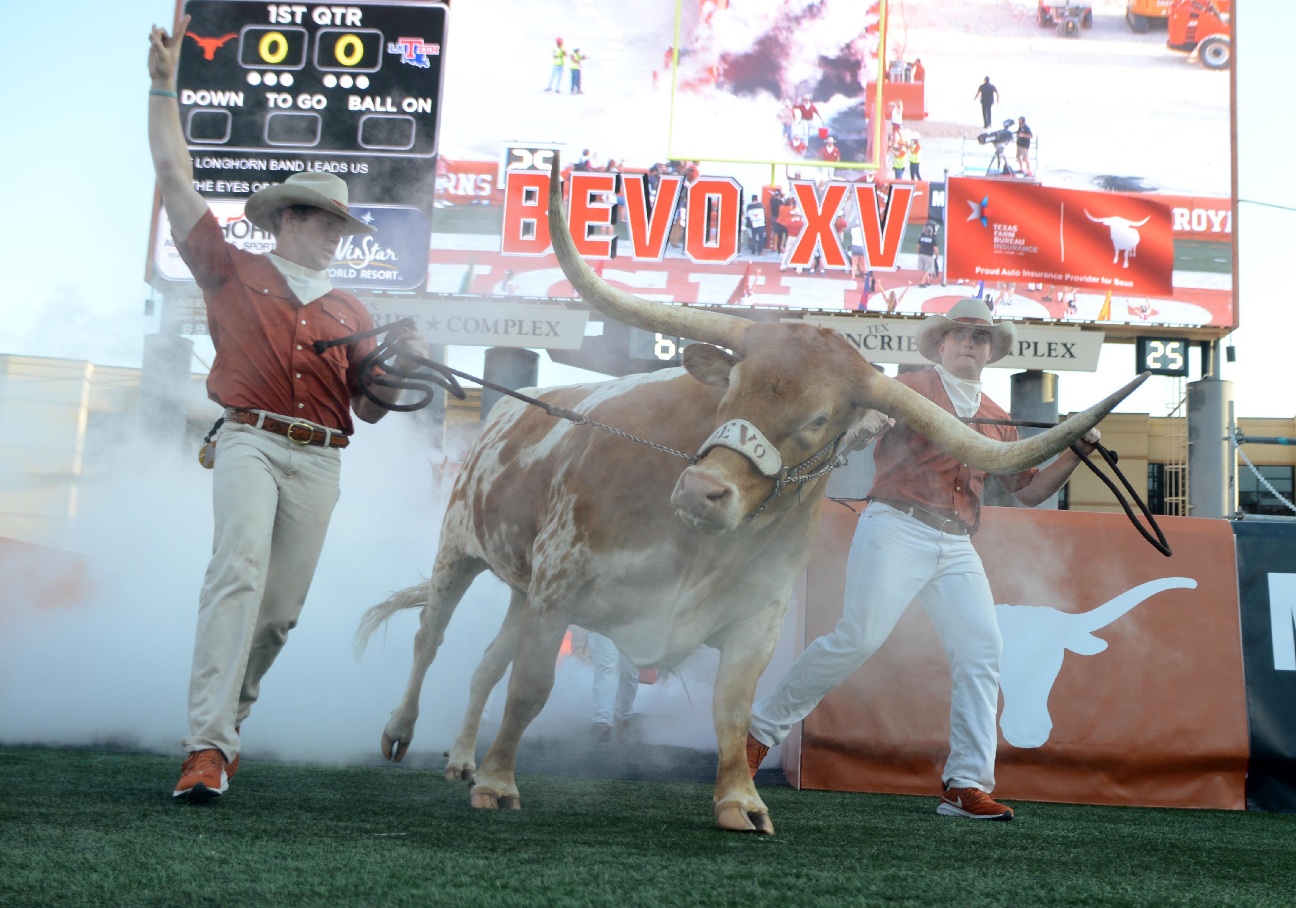 COLLEGE FOOTBALL: AUG 31 Louisiana Tech at Texas
