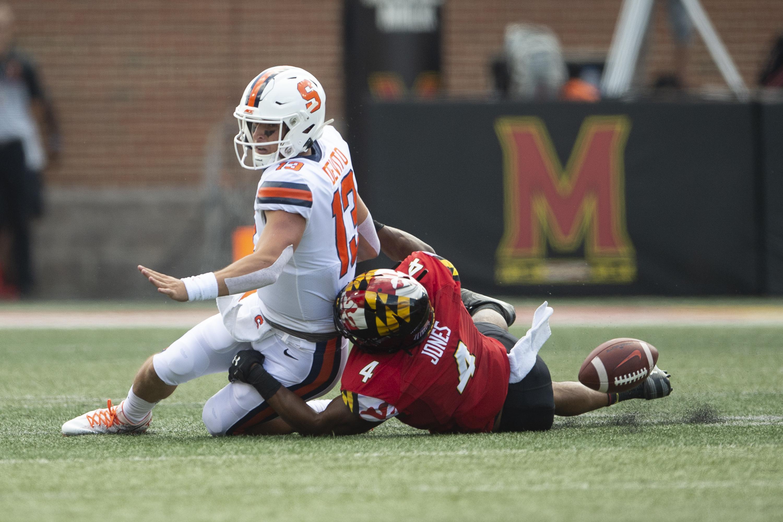 NCAA Football: Syracuse at Maryland
