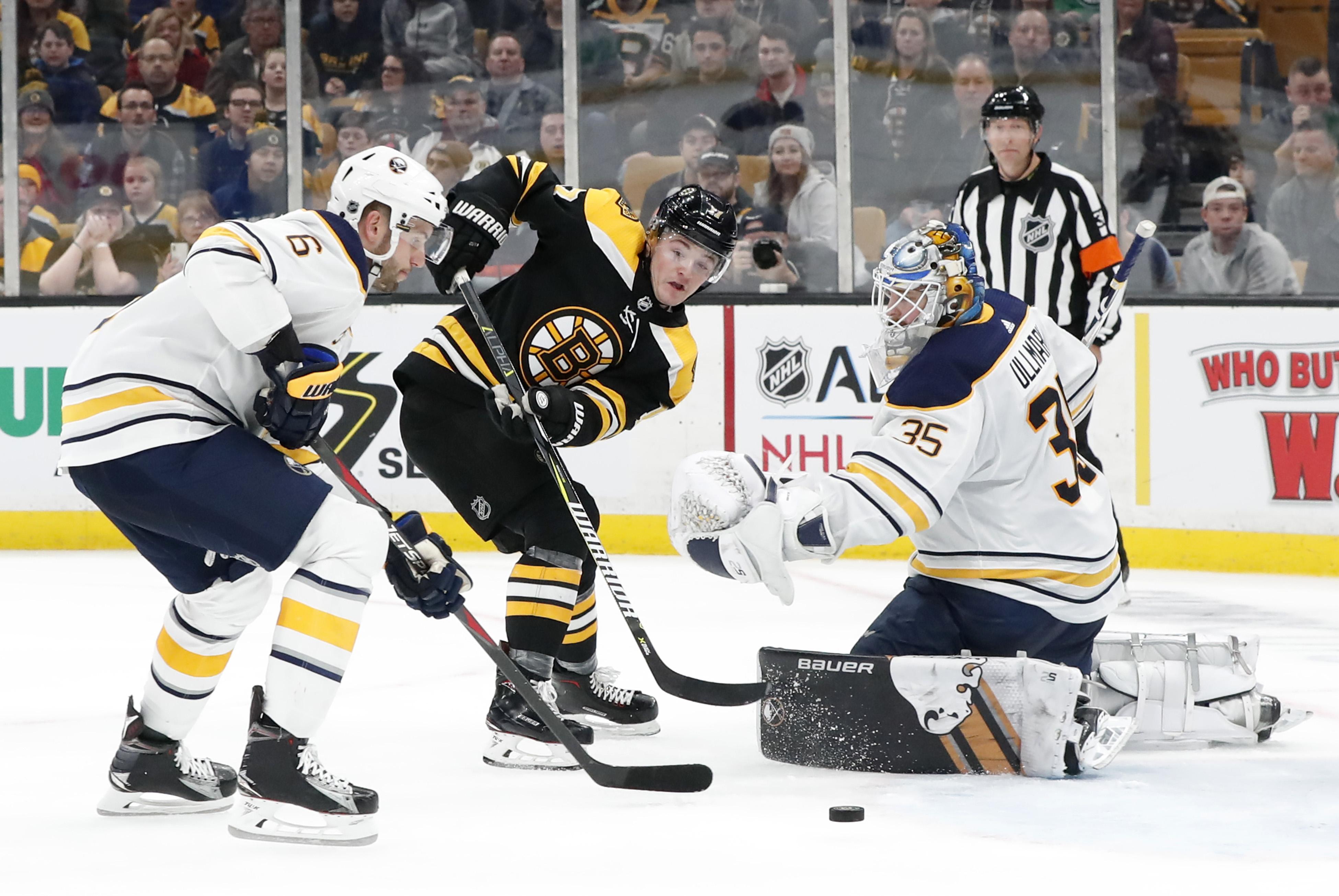 NHL: JAN 05 Sabres at Bruins
