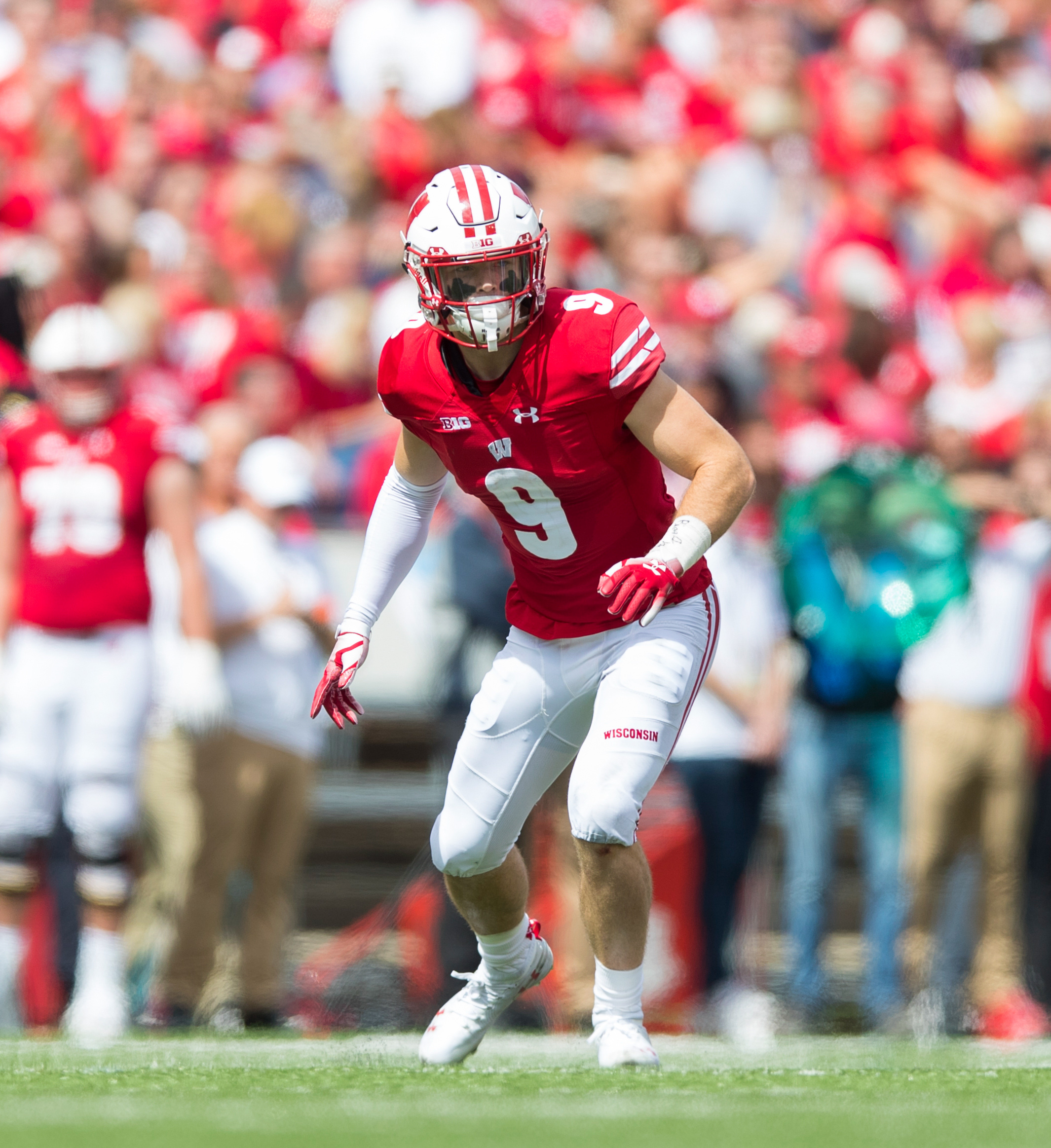 NCAA Football: New Mexico at Wisconsin