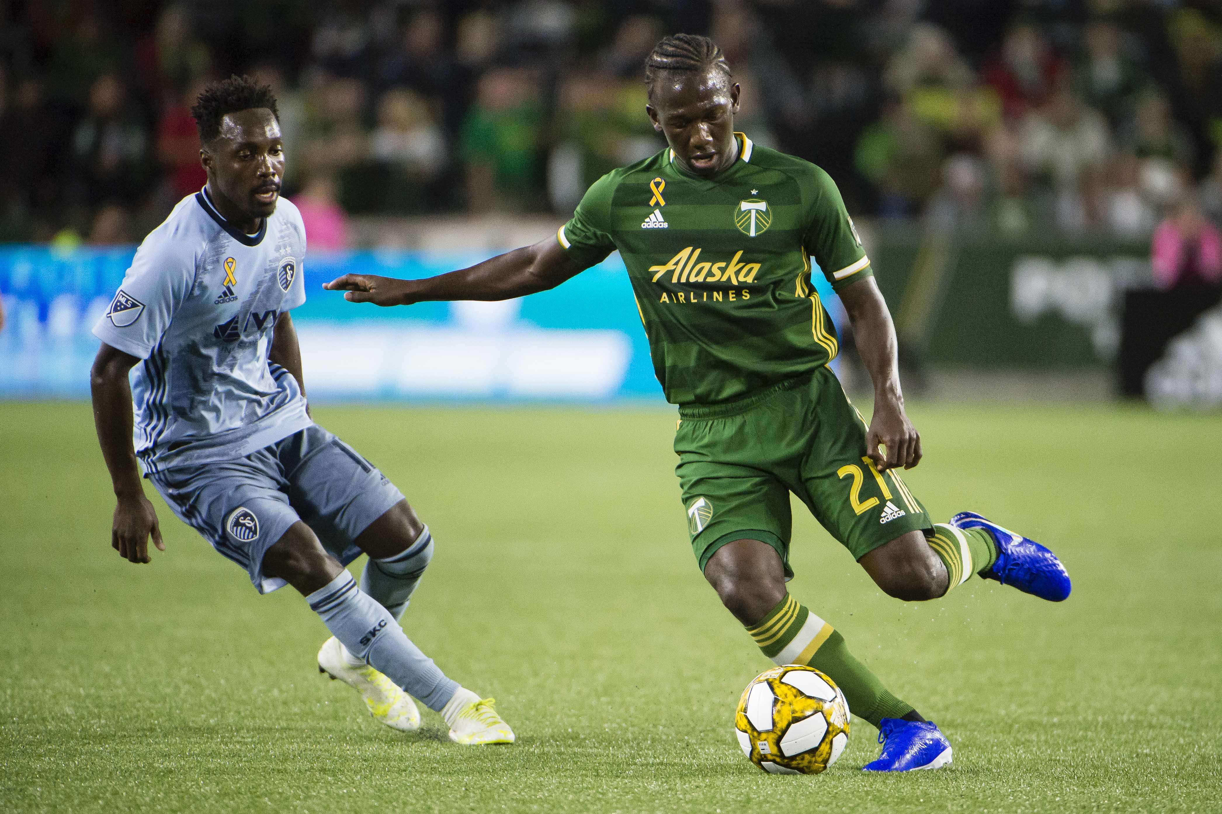 MLS: Sporting Kansas City at Portland Timbers