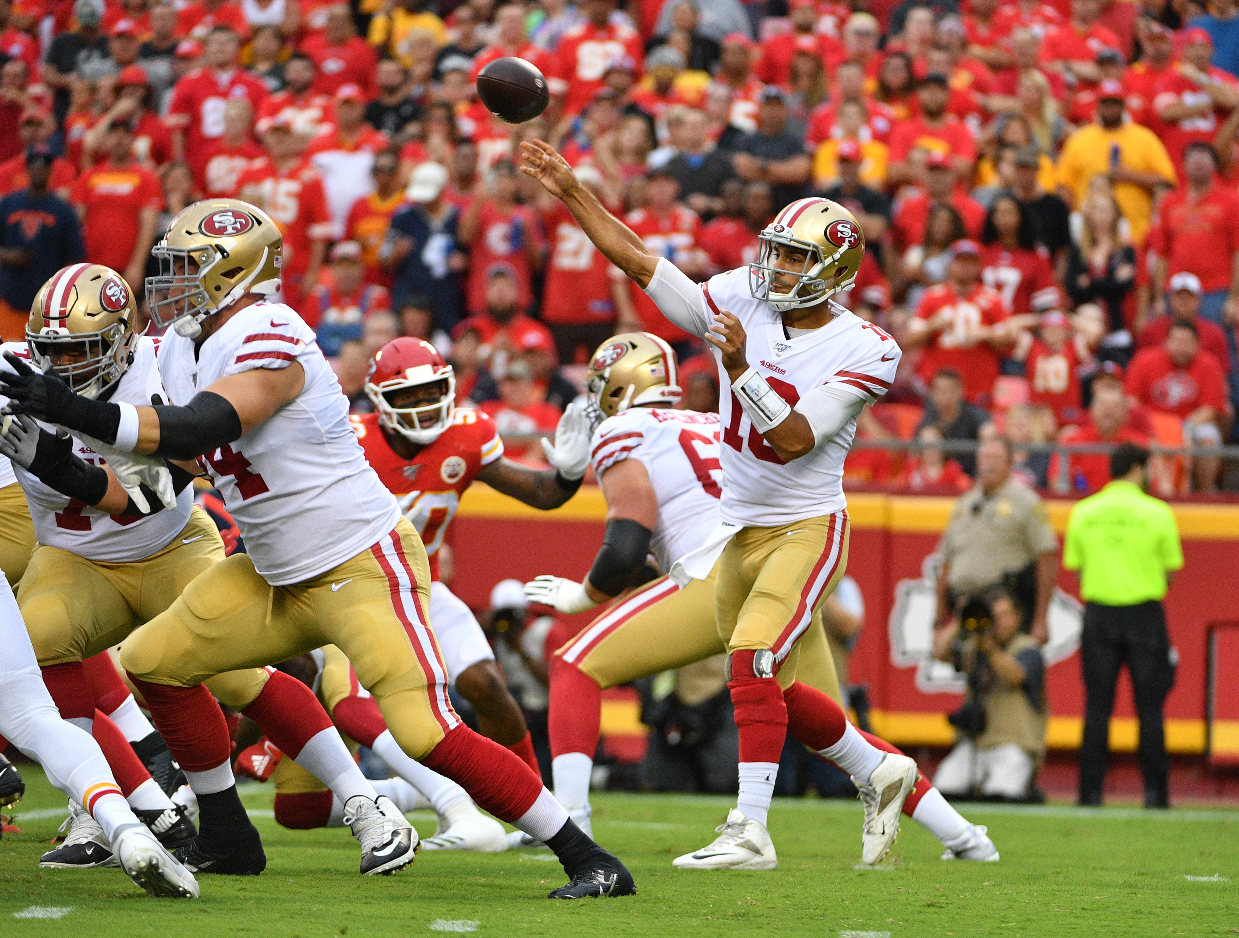 NFL: Preseason-San Francisco 49ers at Kansas City Chiefs