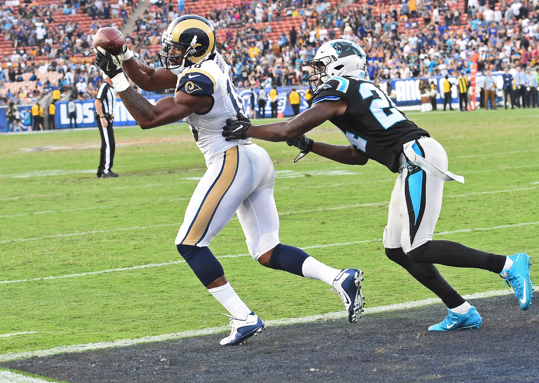 NFL: Carolina Panthers at Los Angeles Rams