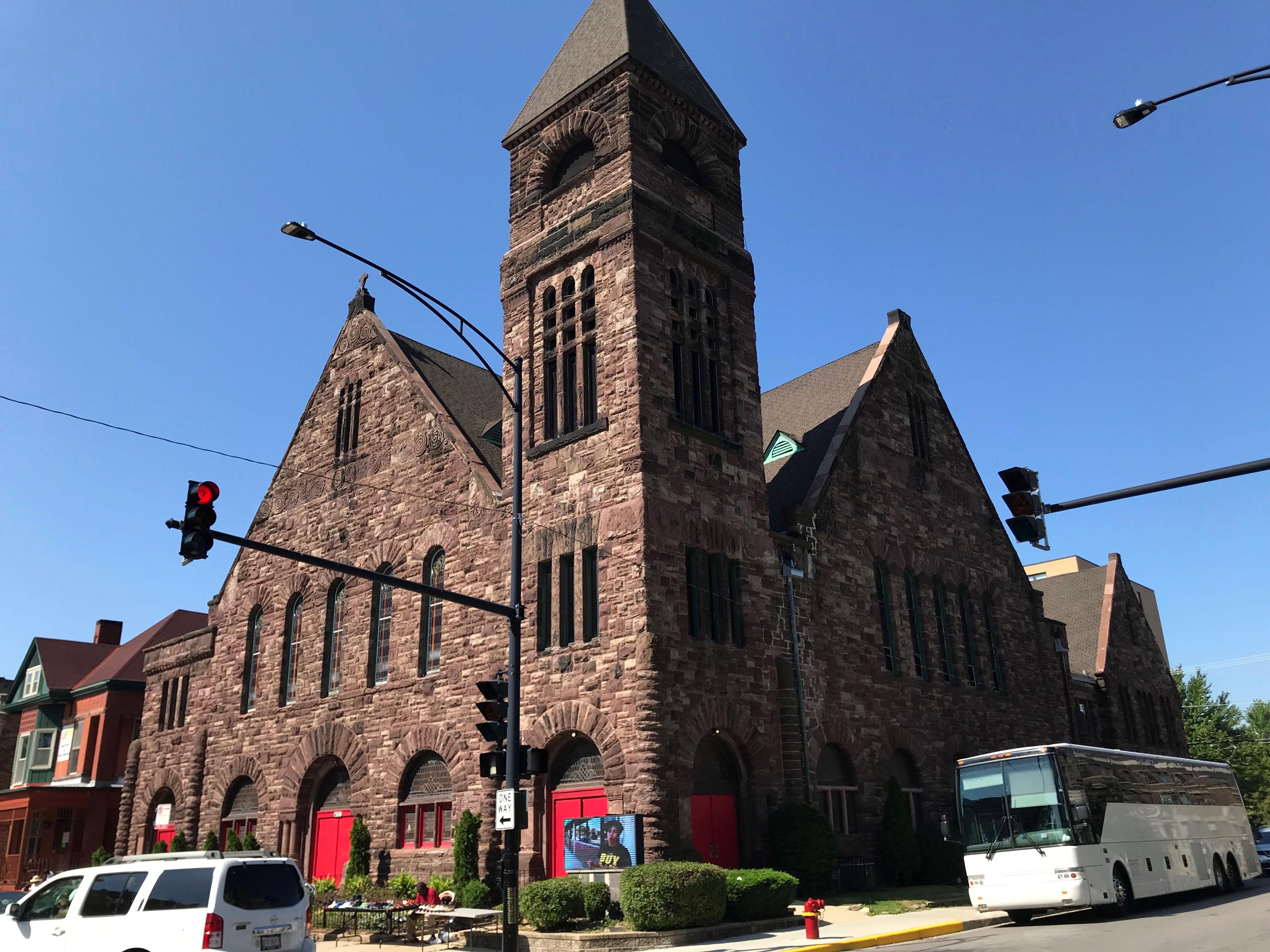 Metropolitan Apostolic Community Church of Christ, 4100 S. King Drive.