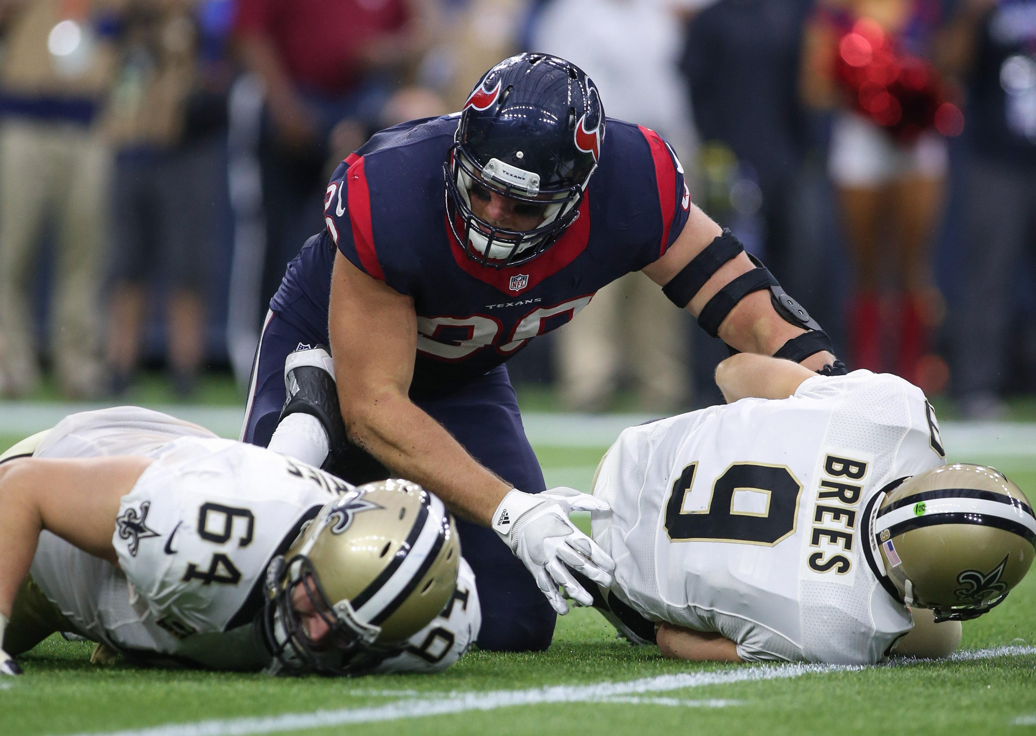 NFL: New Orleans Saints at Houston Texans