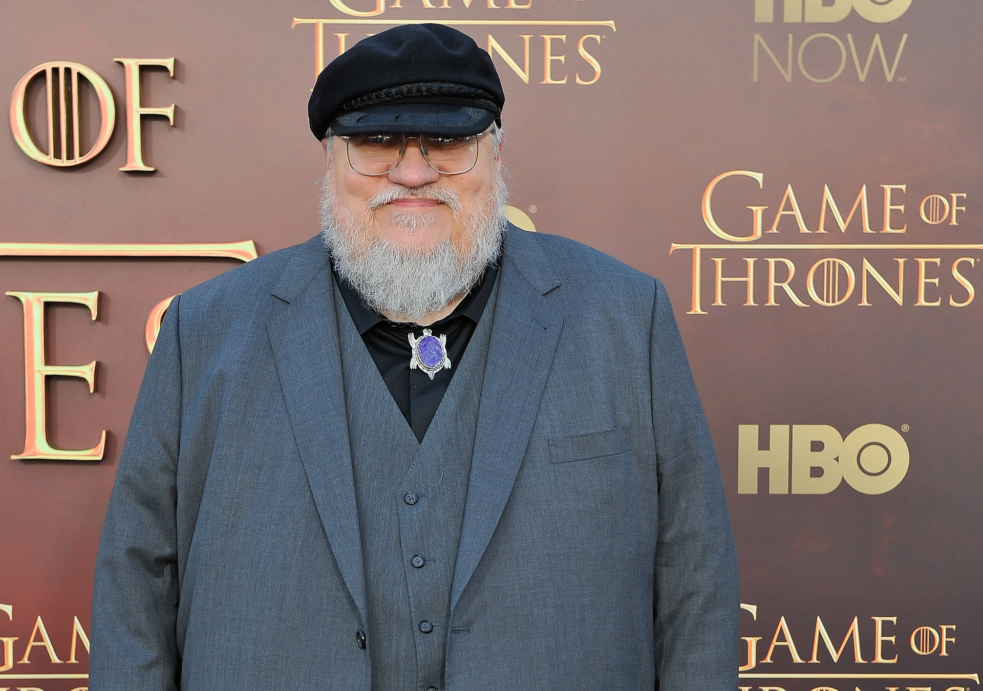 George R.R. Martin - Game of Thrones season 5 premiere
