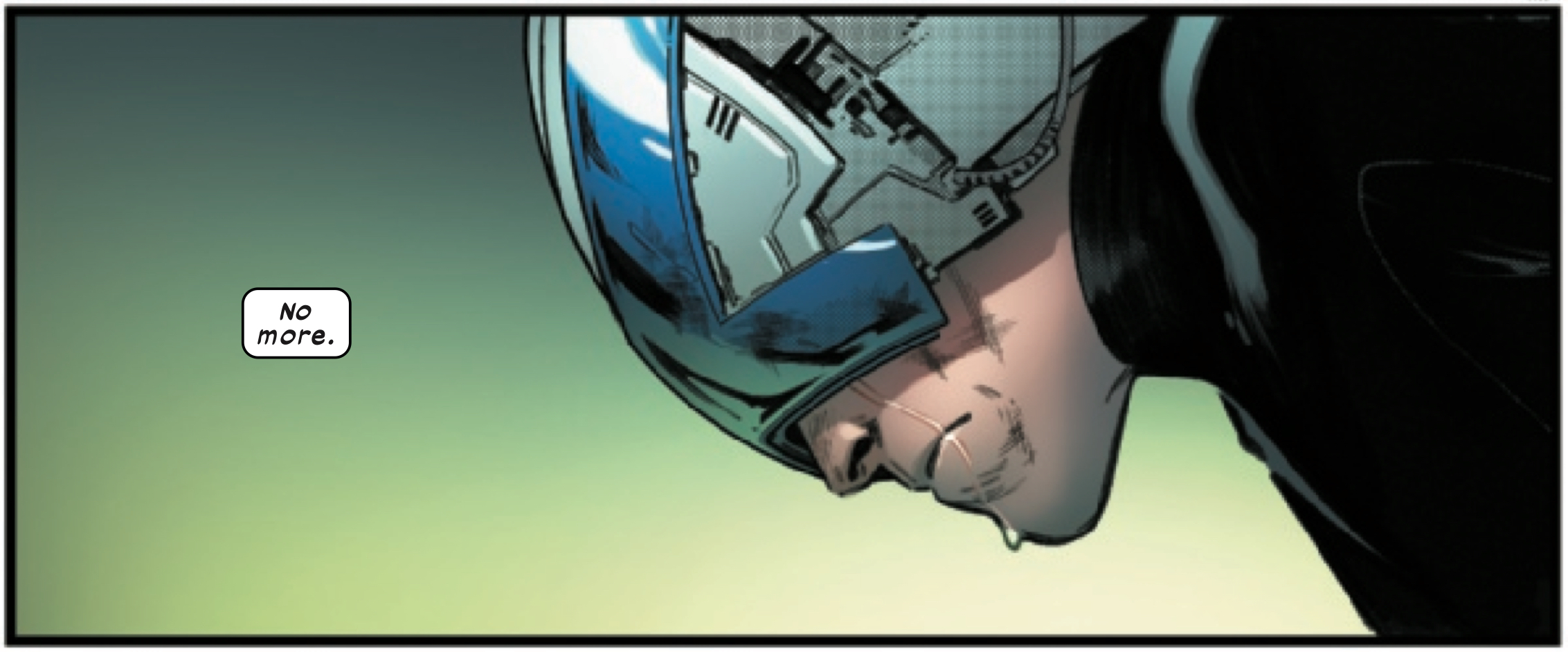 Professor X sheds a single tear for the X-Men in House of X #4, Marvel Comics (2019).