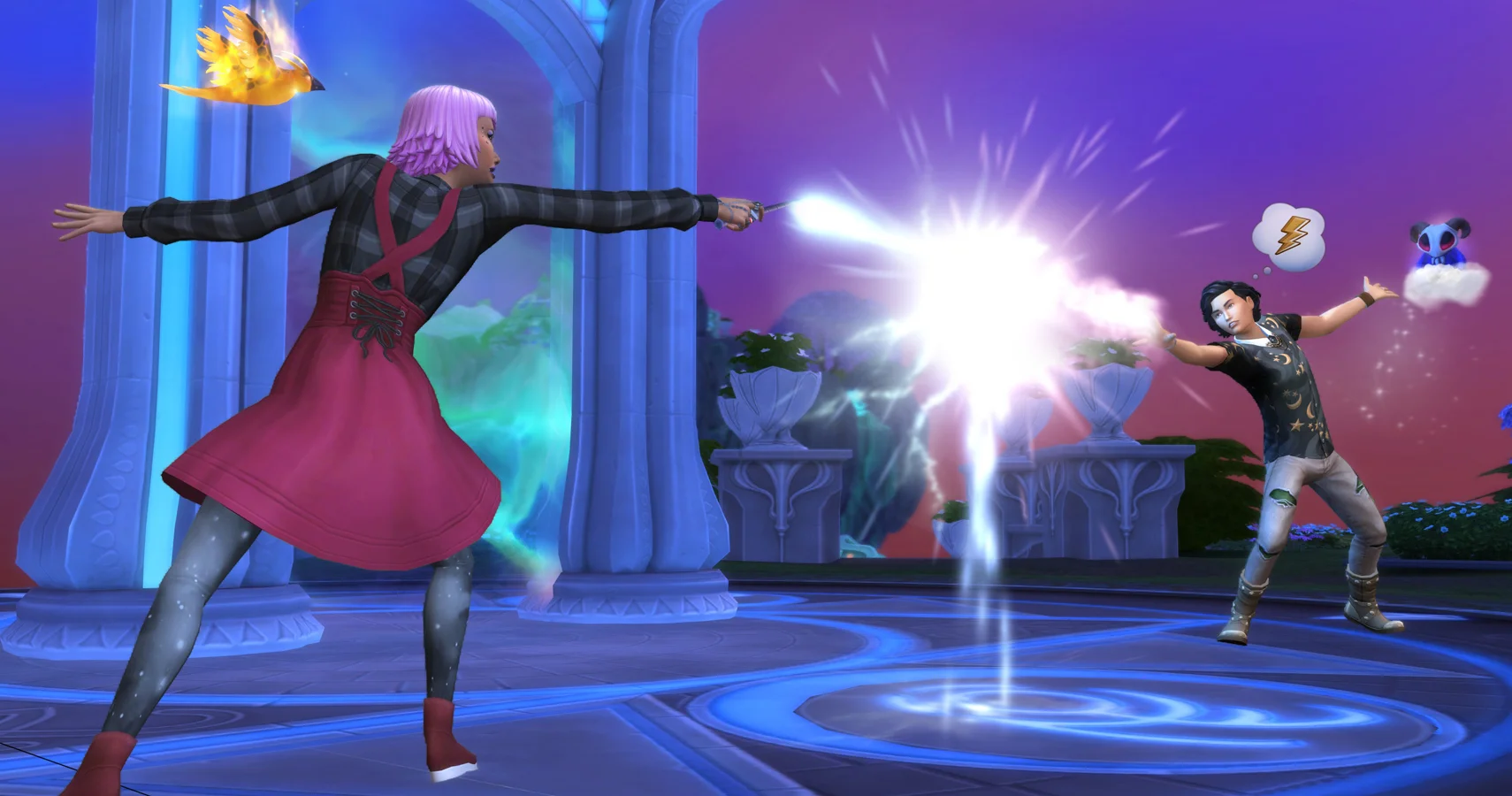 The Sims 4's Realm of Magic expansion gets a little too powerful