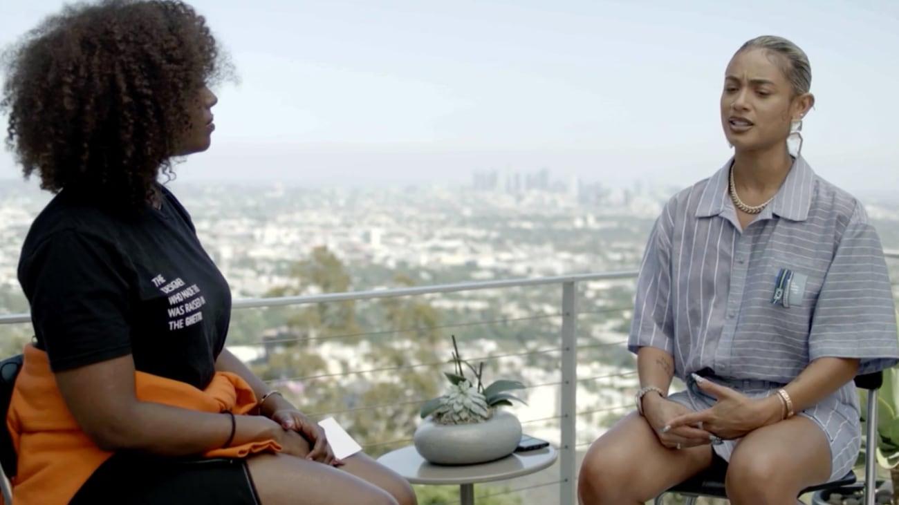 DaniLeigh talks with Scottie Beam