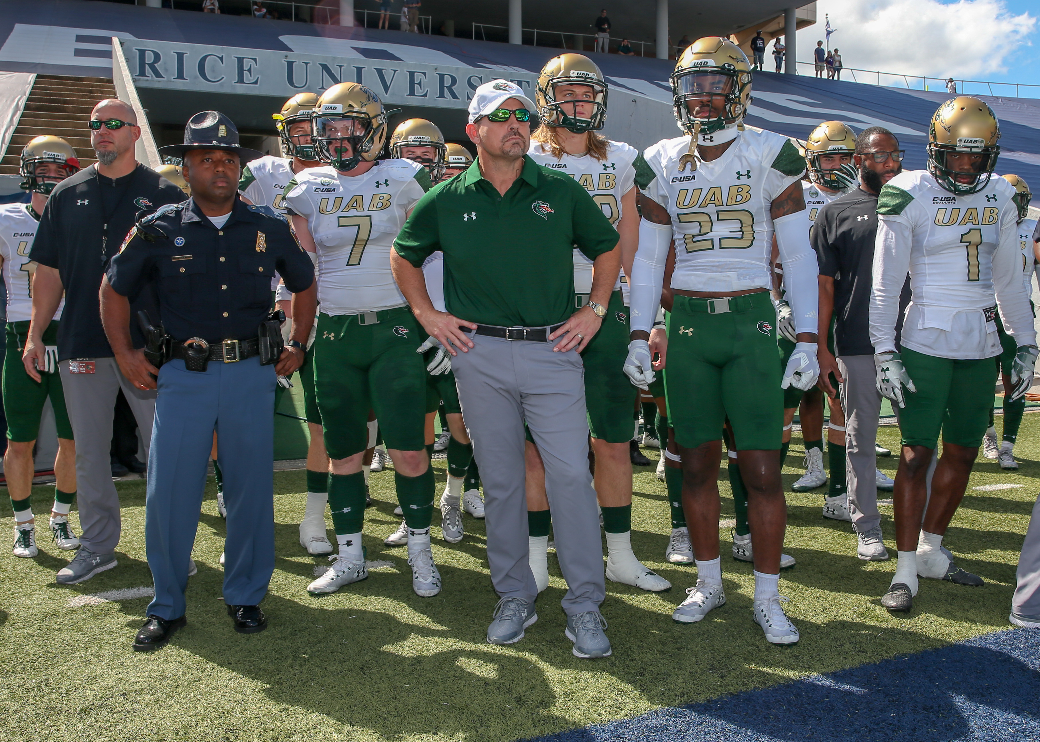 COLLEGE FOOTBALL: OCT 13 UAB at Rice