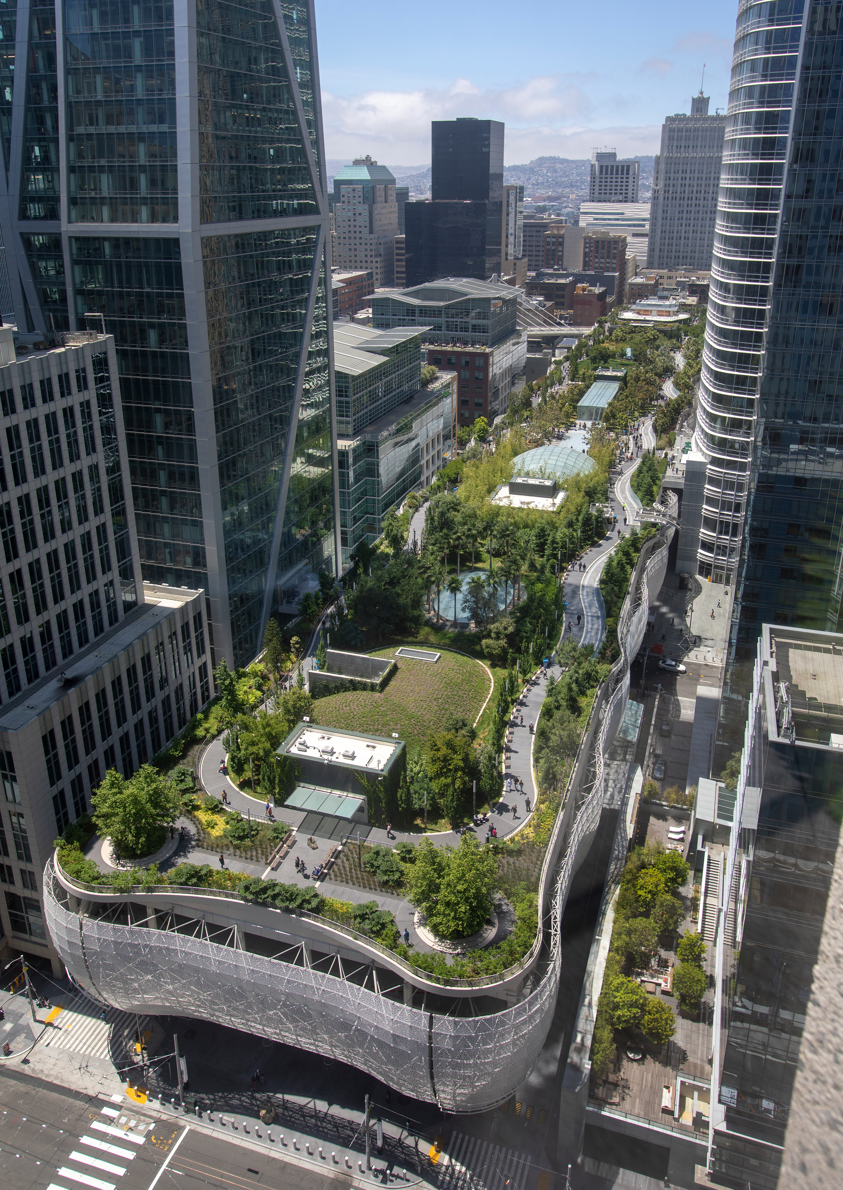 Salesforce Park reopens in San Francisco