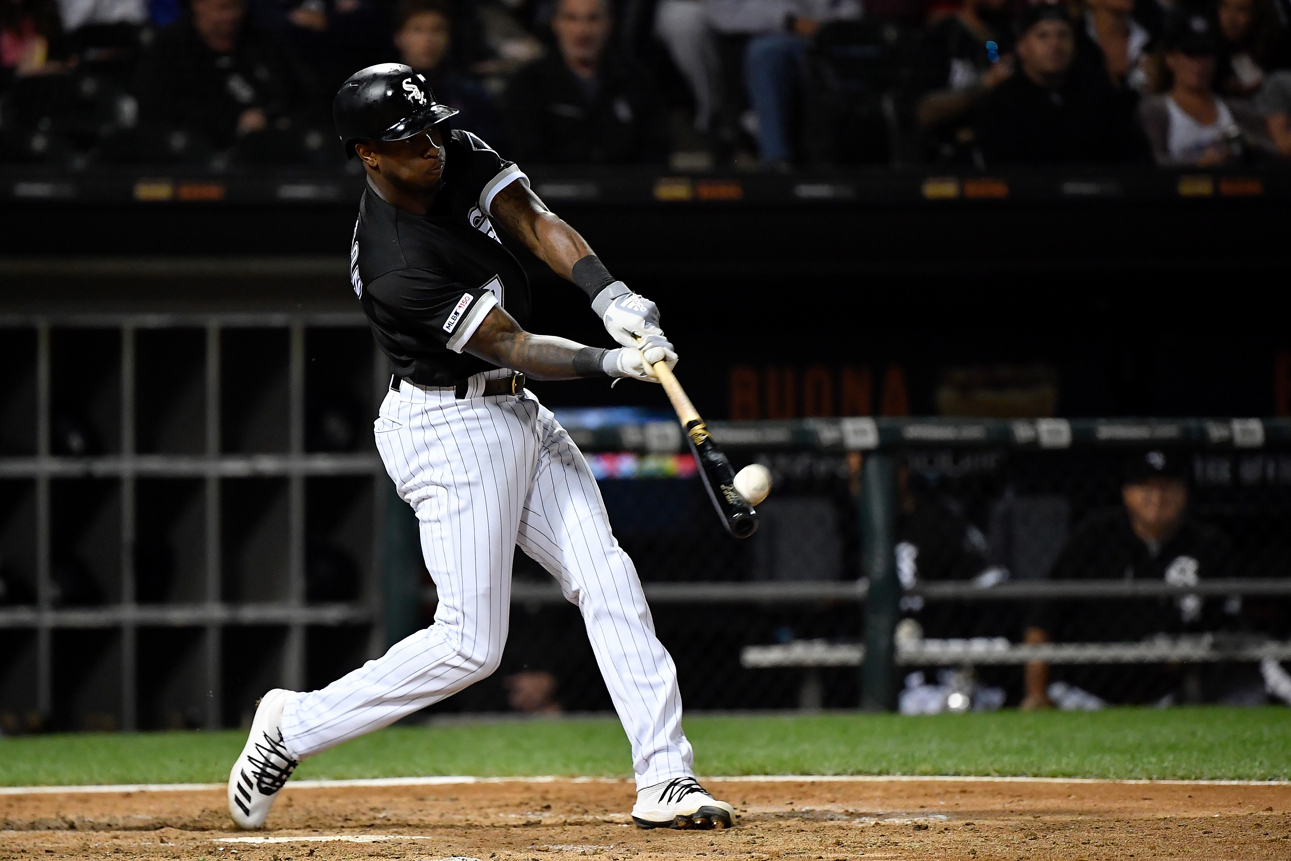 White Sox shortstop Tim Anderson has an .869 OPS this season, 110 points higher than the average major-league OPS.
