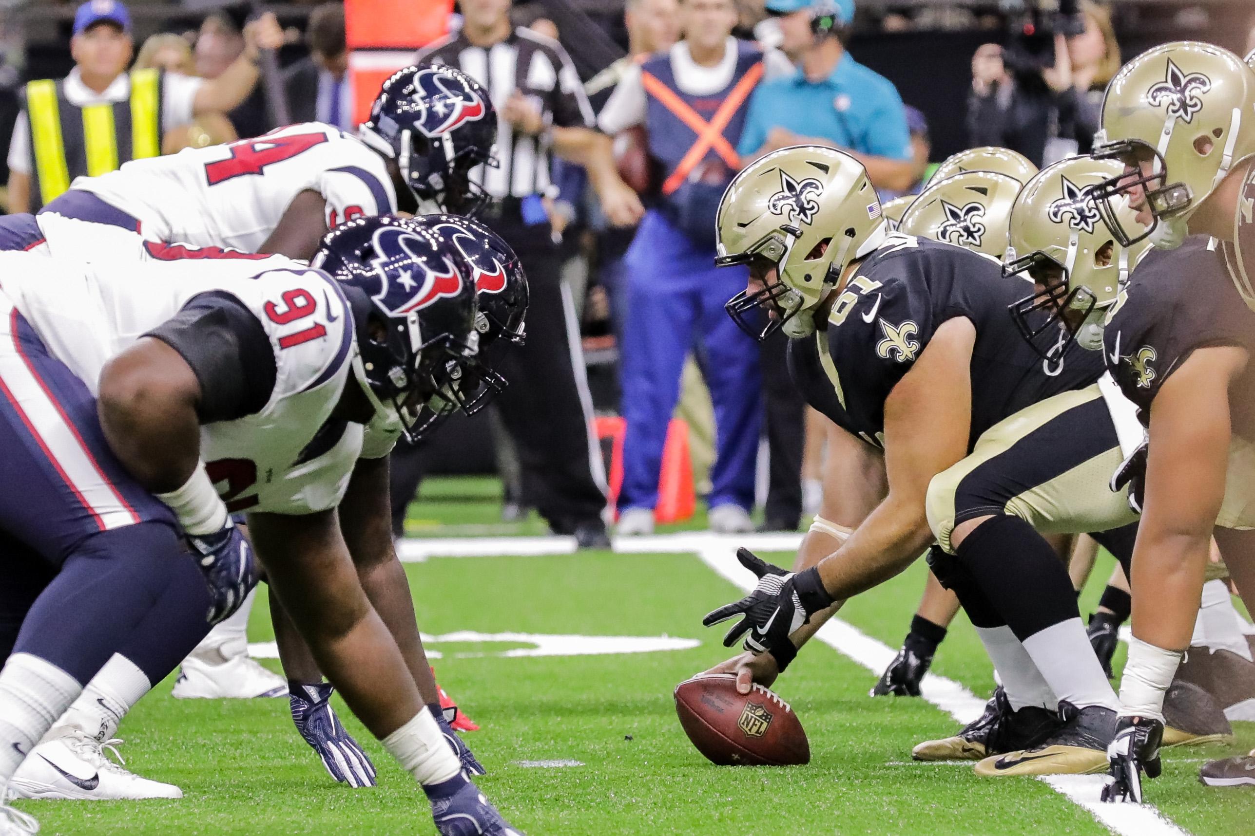 NFL: Houston Texans at New Orleans Saints