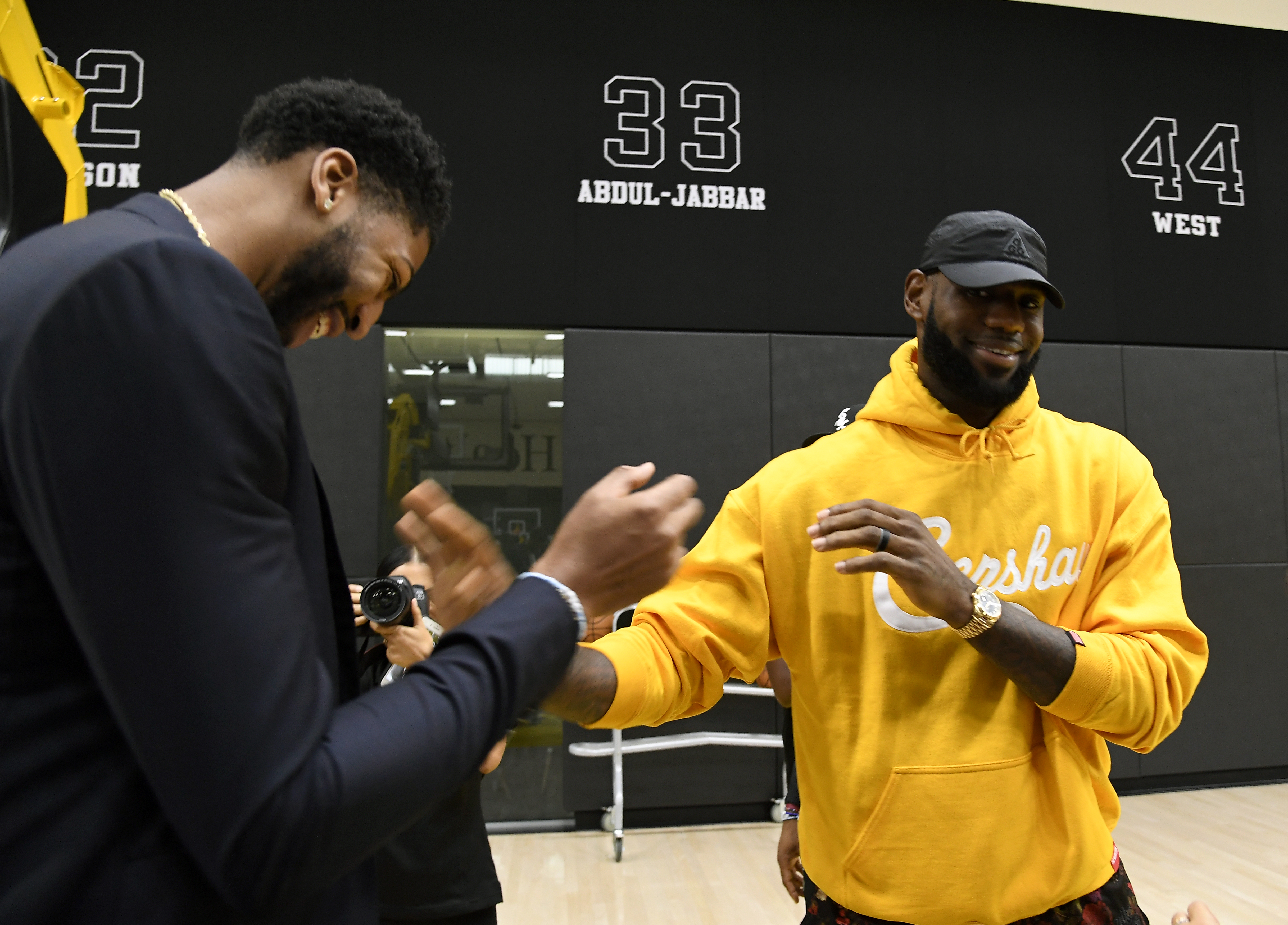 Los Angeles Lakers Introduce Anthony Davis