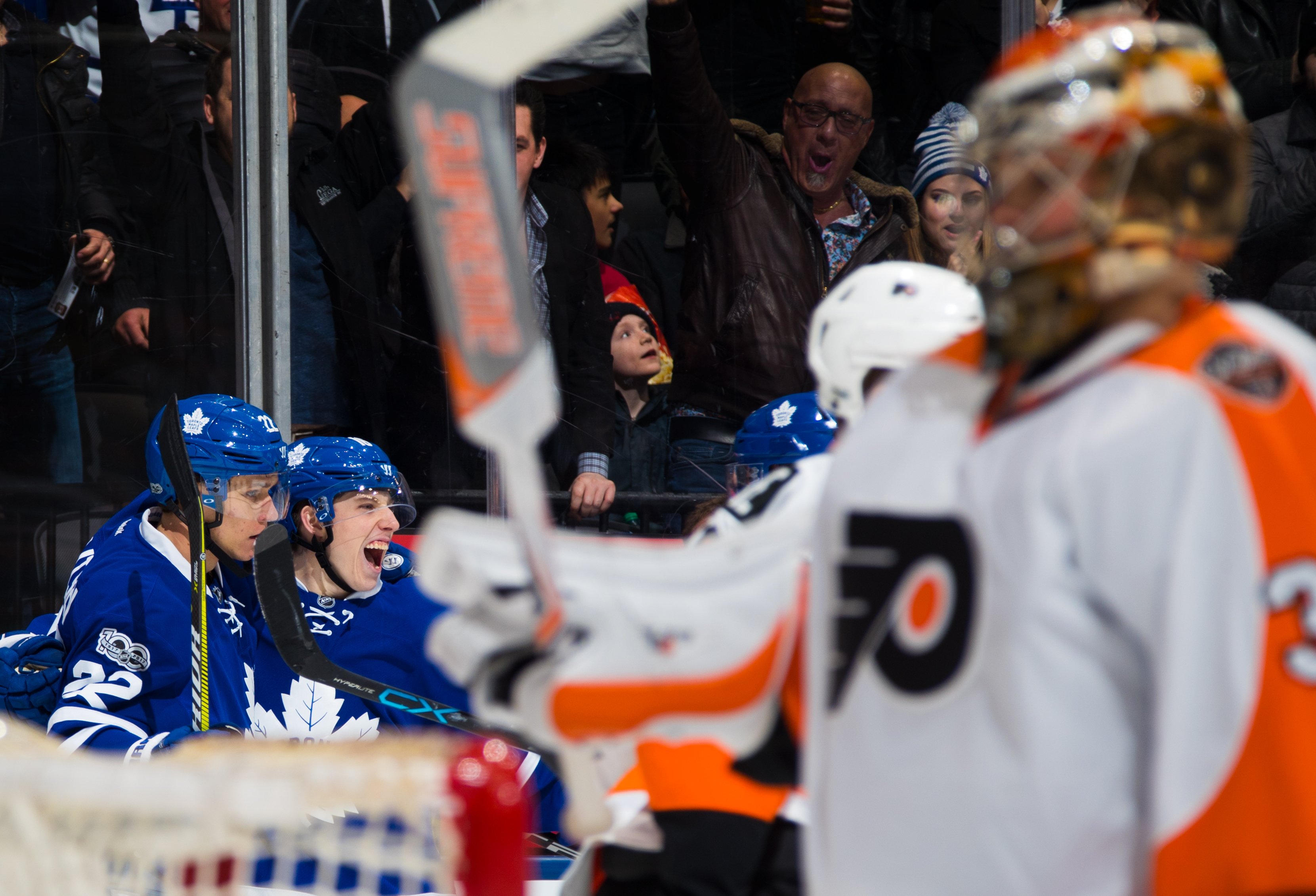 Philadelphia Flyers v Toronto Maple Leafs
