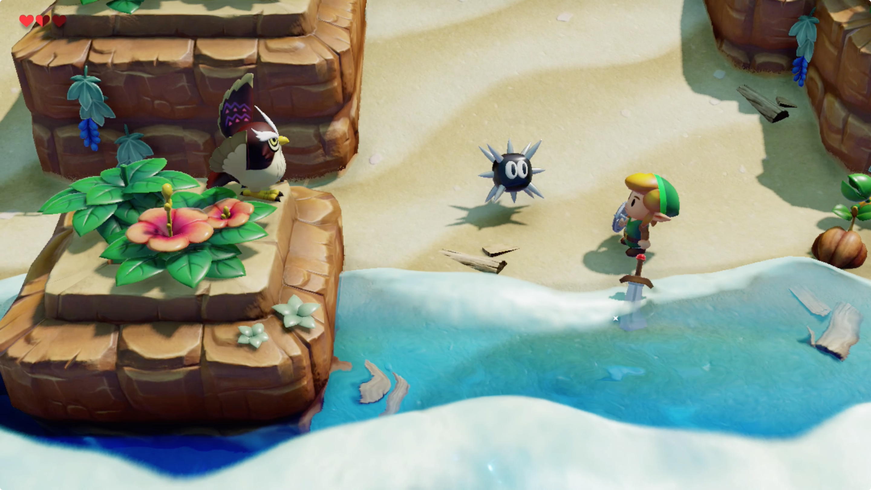 Link's Awakening how to find your sword and shield guide and maps
