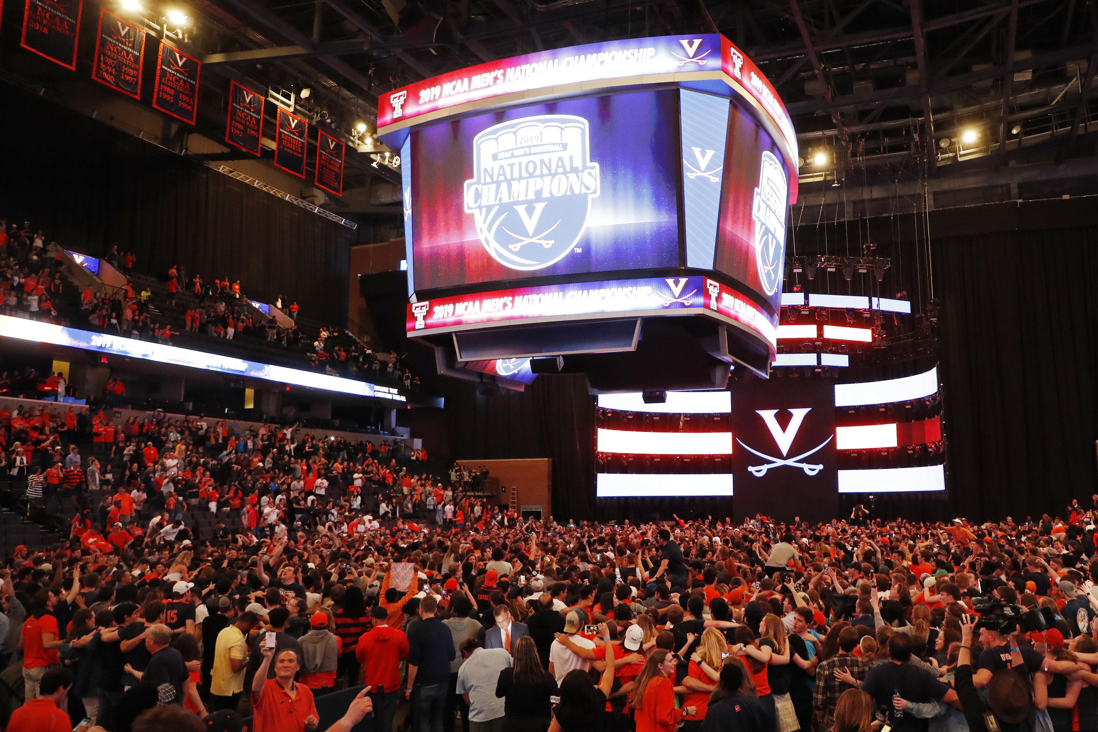 NCAA Basketball: Final Four-Virginia Watch Party