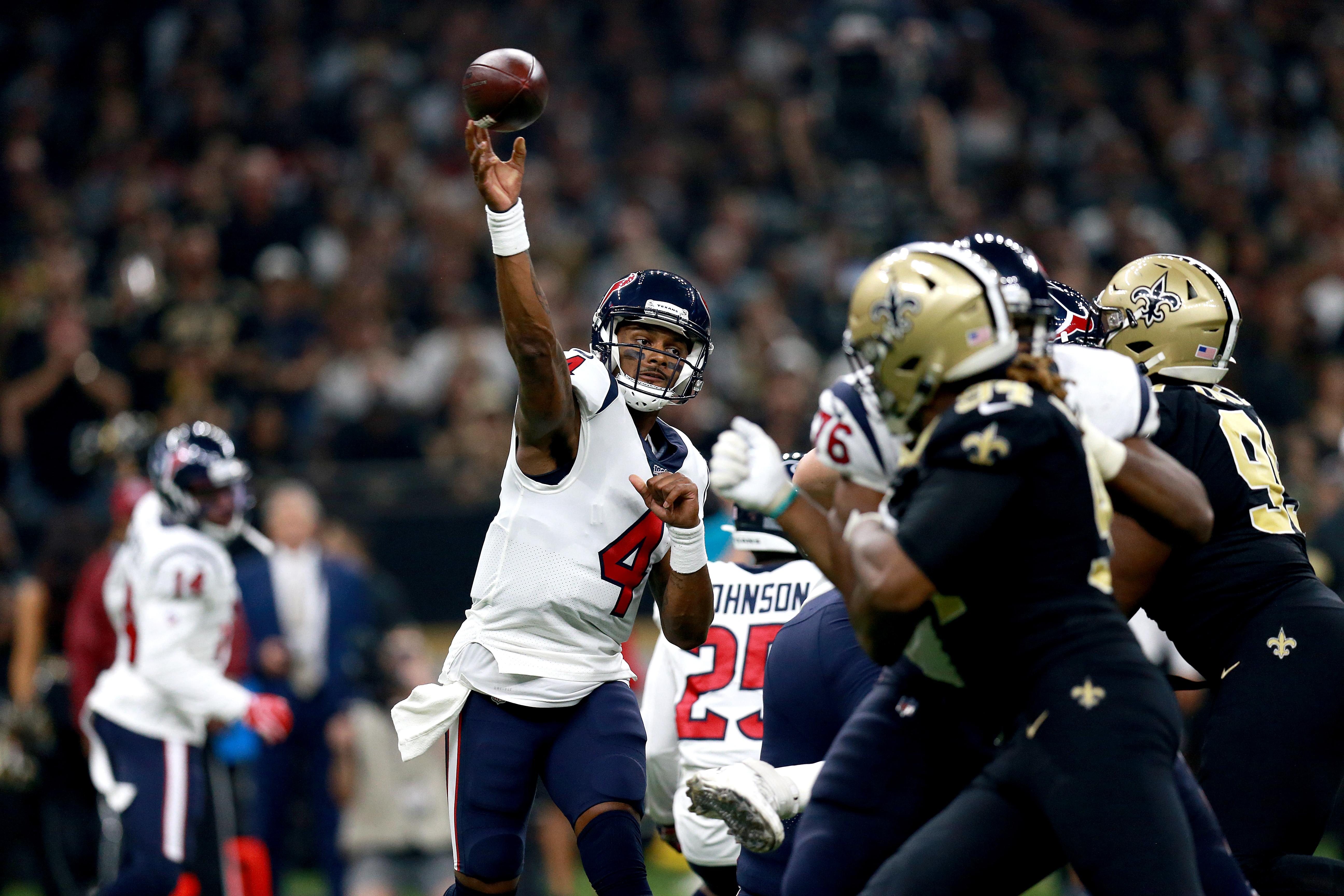 Houston Texans vNew Orleans Saints