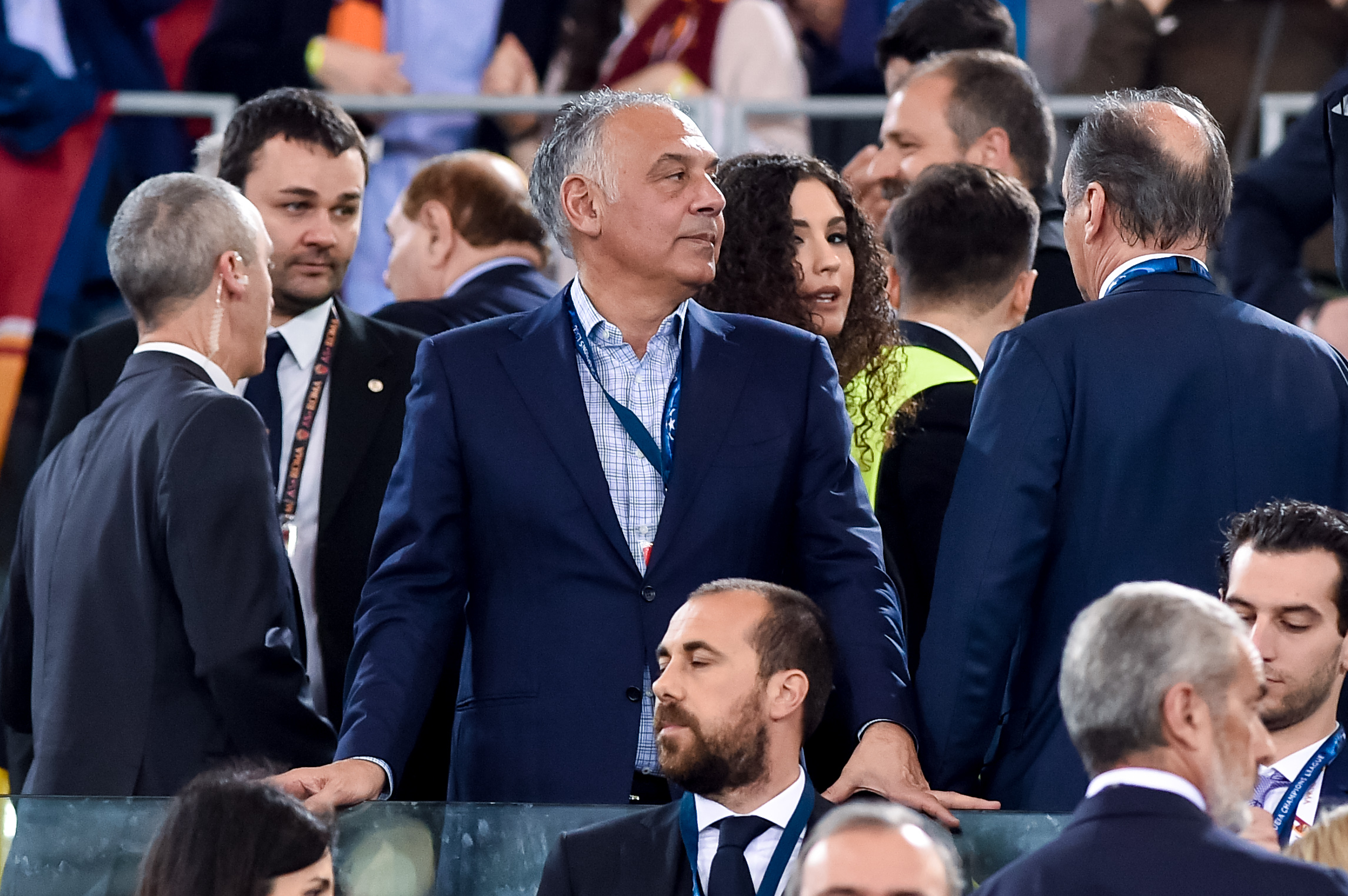 Roma v Liverpool UEFA Champions League 2/05/2018.