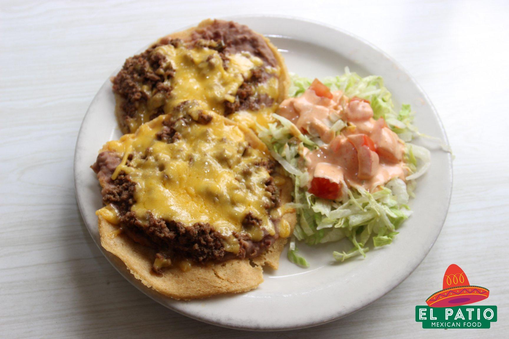 A dish from El Patio