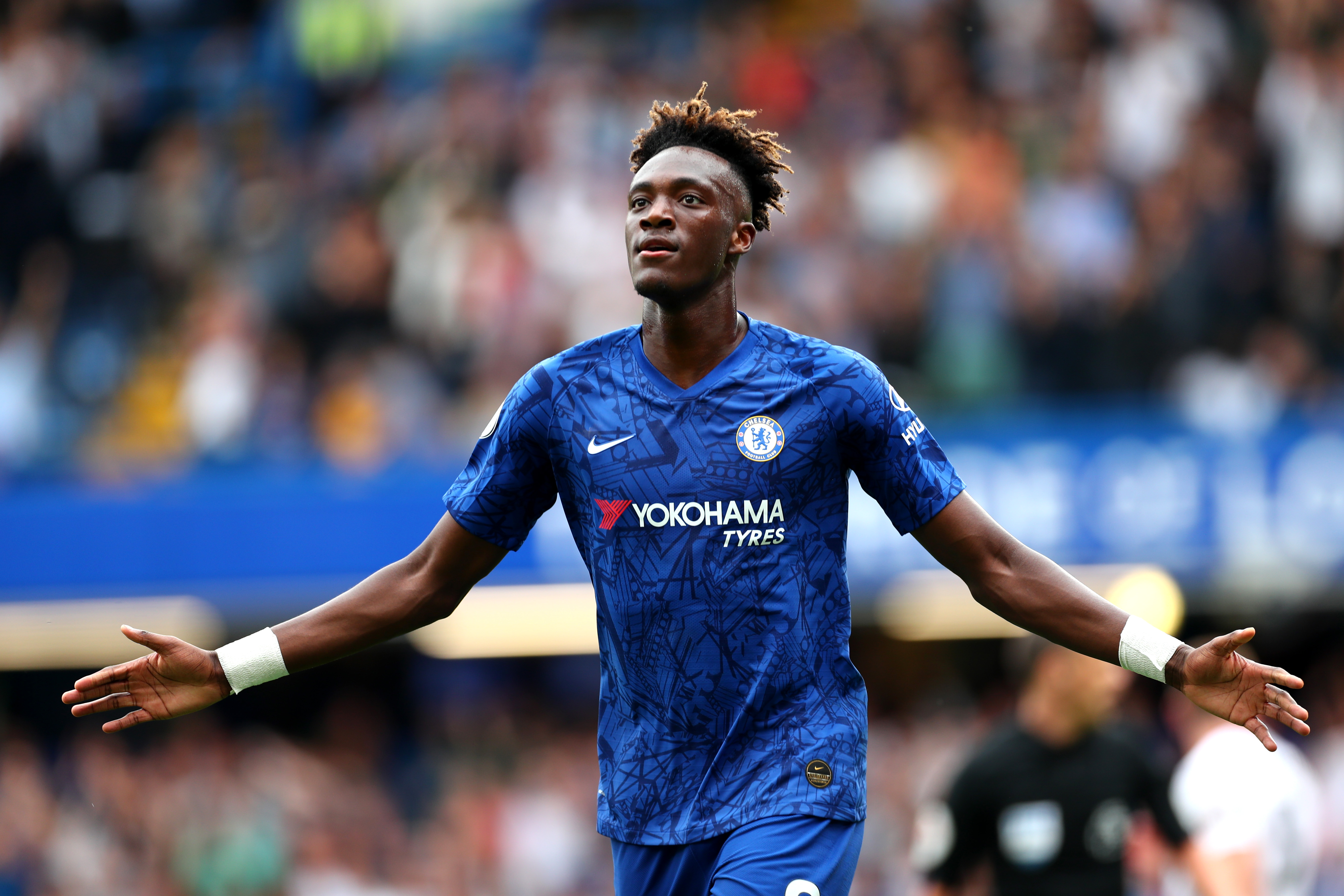 Tammy Abraham wants to follow in Didier Drogba's footsteps at Chelsea