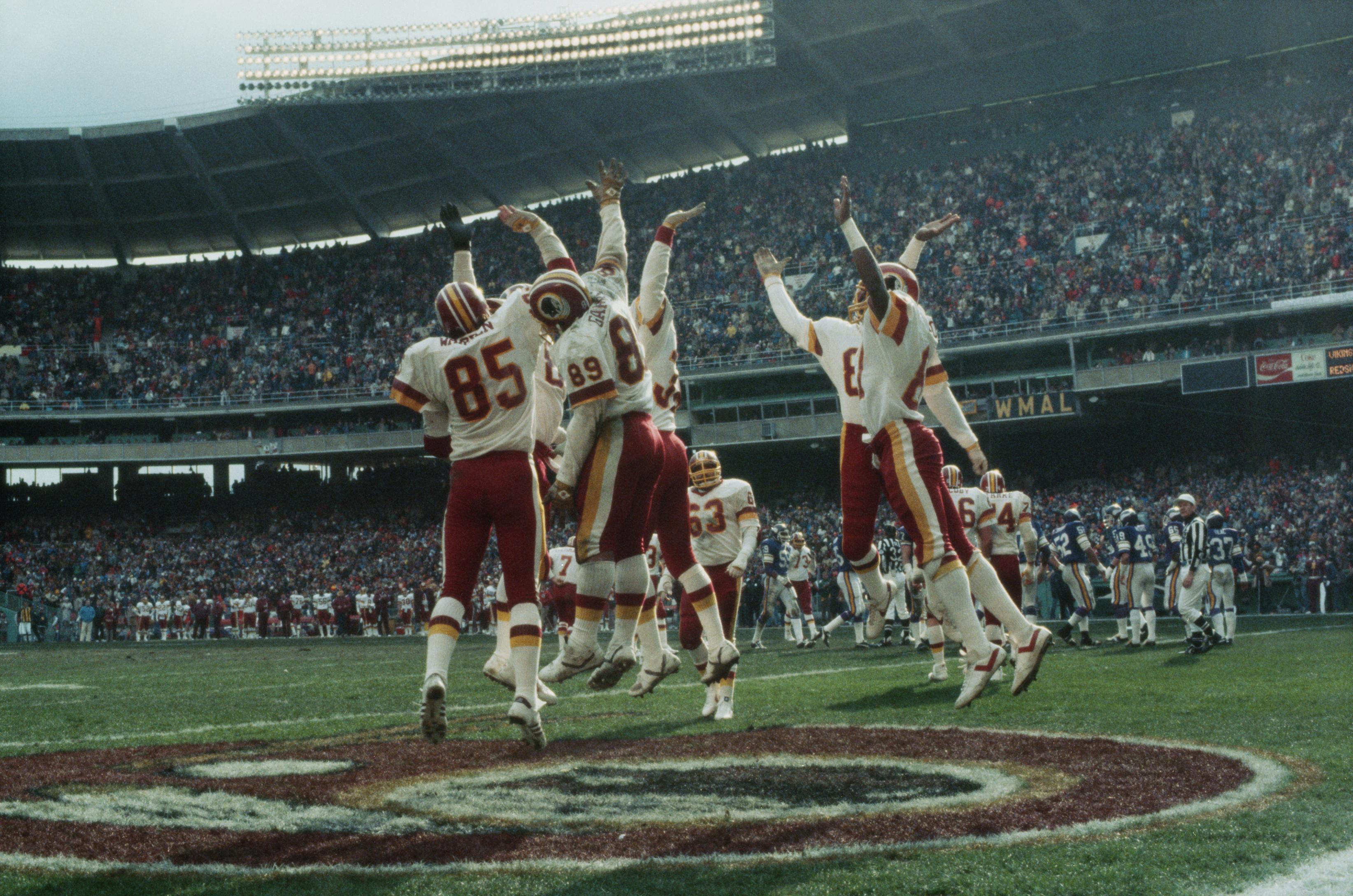 Washington Redskins High-Five