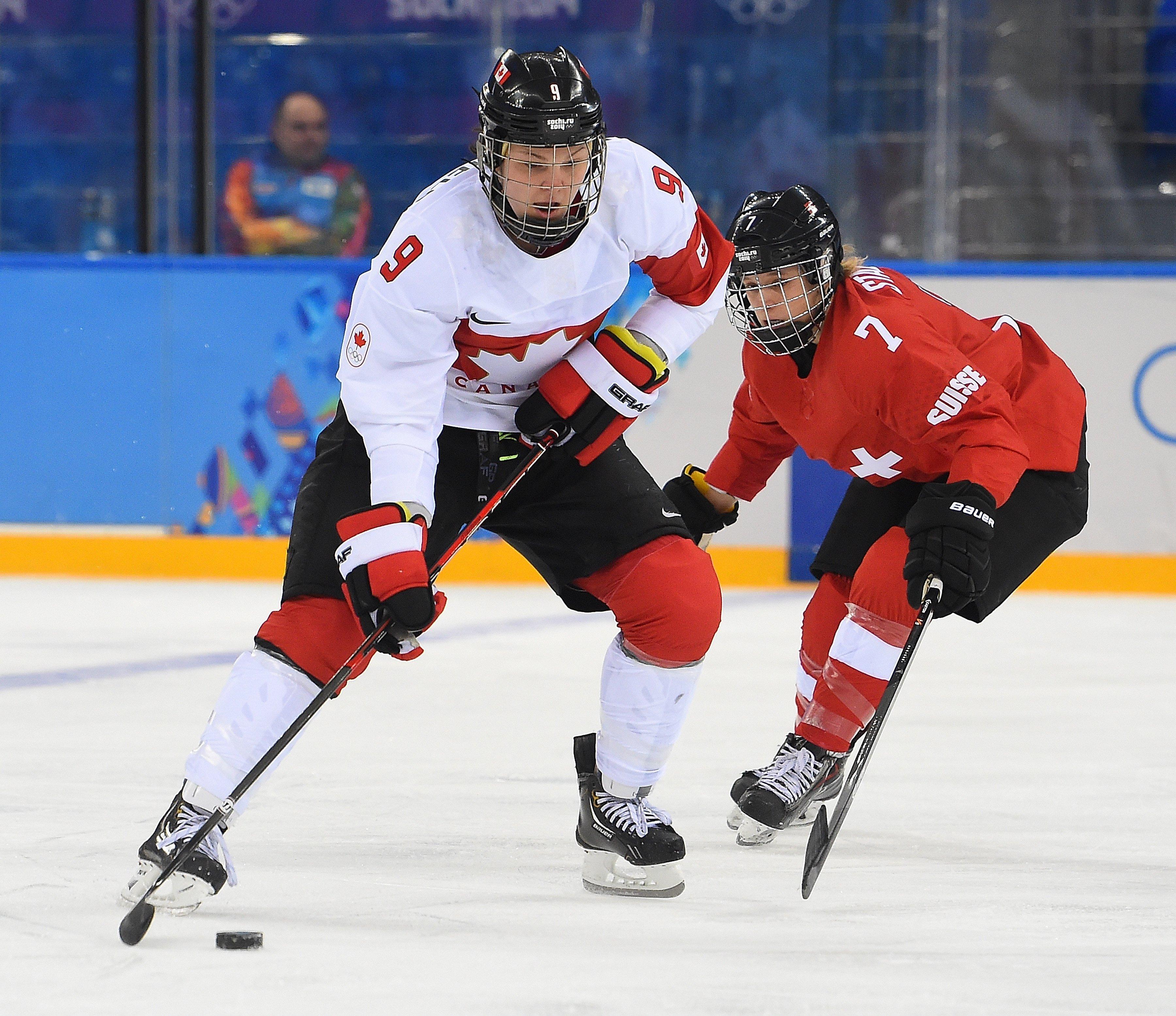 Switzerland vs. Canada Women's Ice Hockey