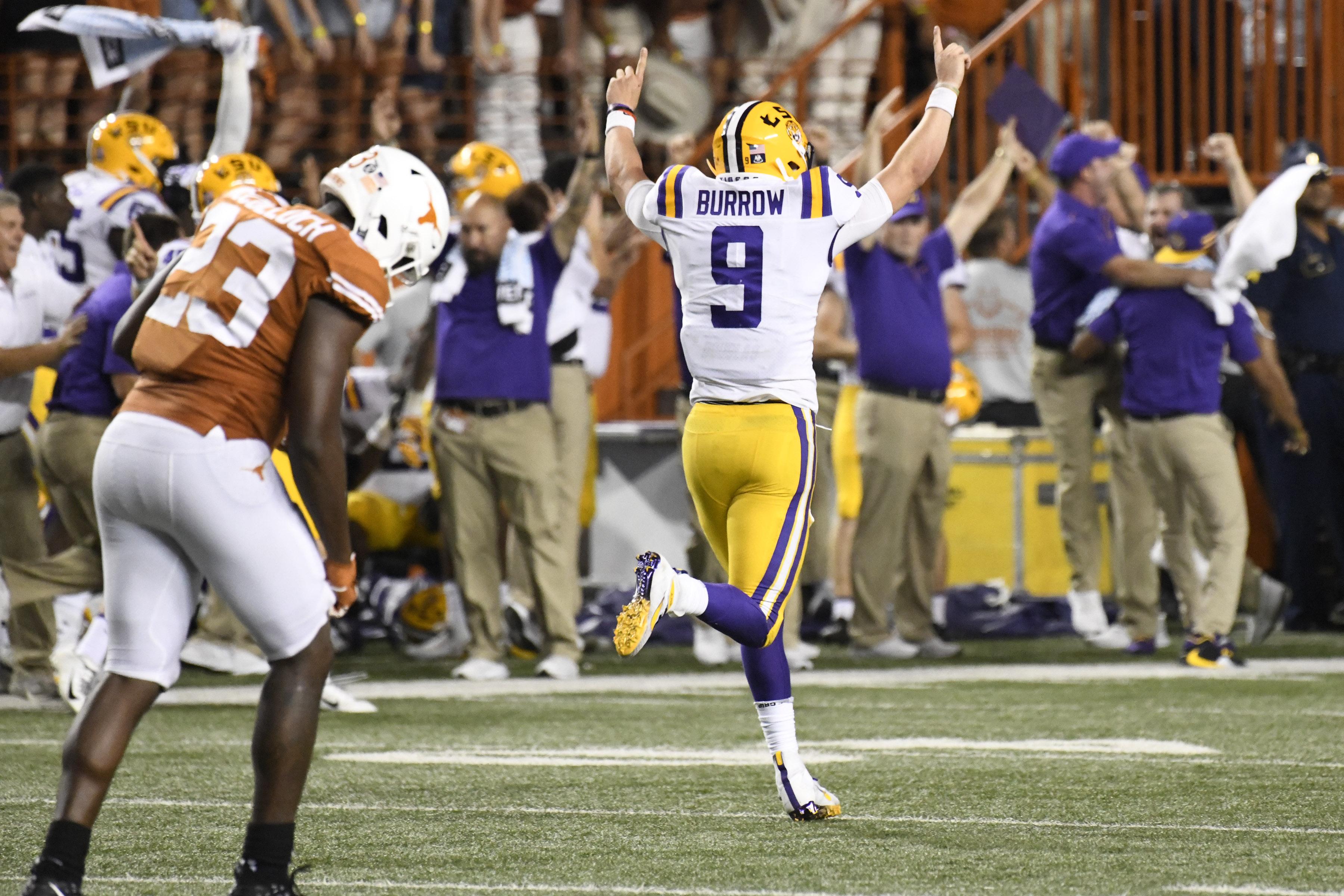 NCAA Football: Louisiana State at Texas