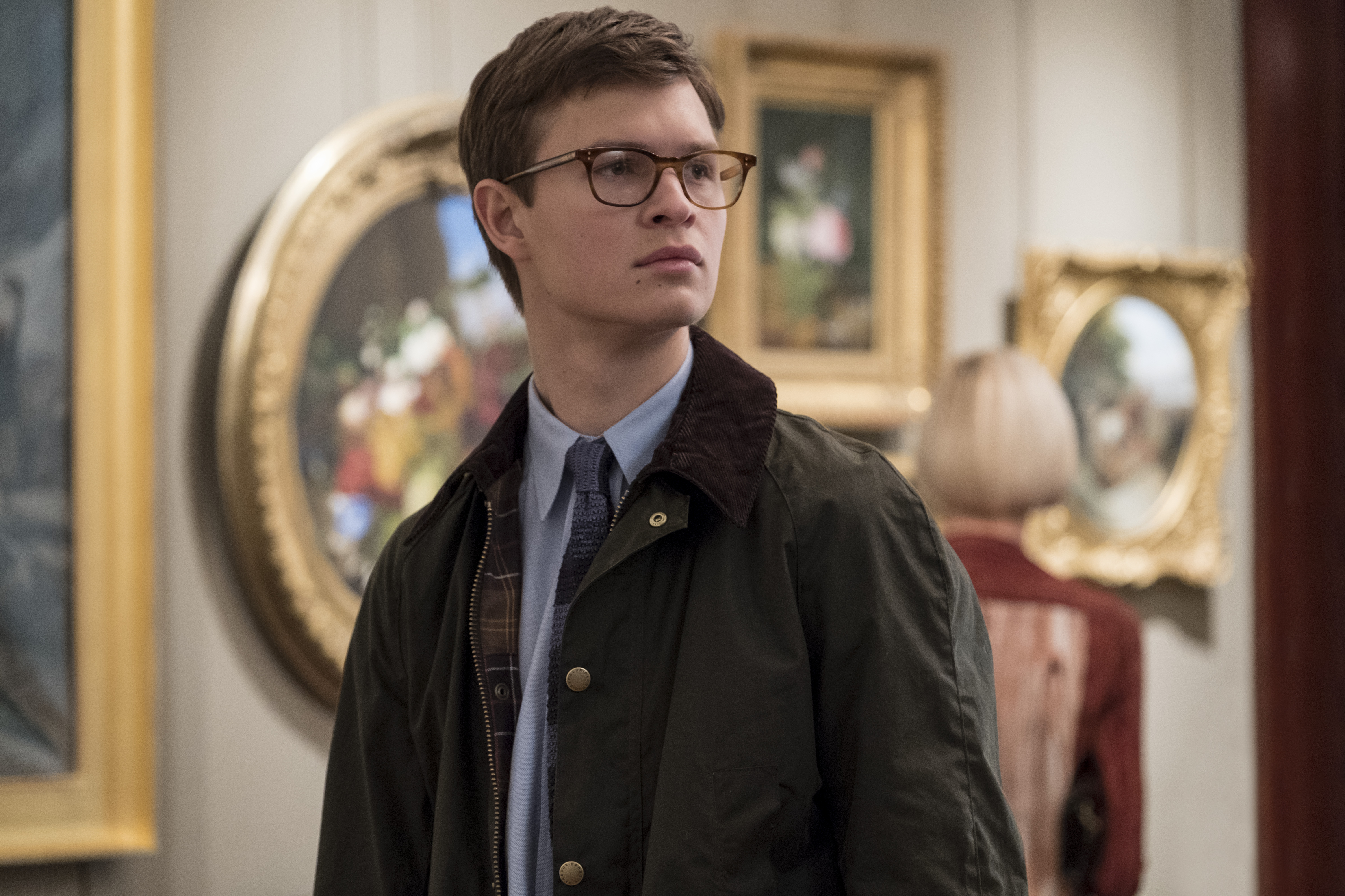 "Ansel Elgort as Theo Decker in Warner Bros. Pictures' and Amazon Studios' drama, ""The Goldfinch,"" a Warner Bros. Pictures release."