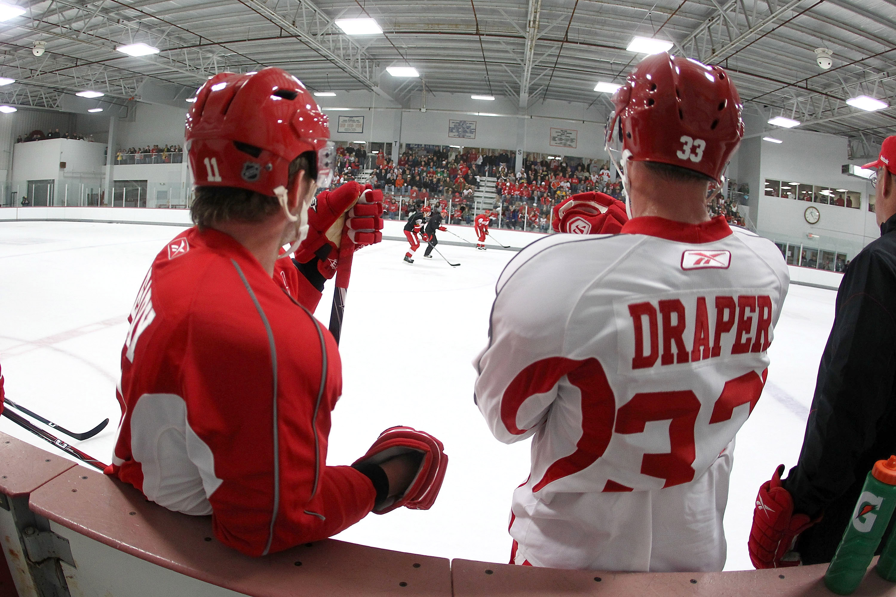 Detroit Red Wings Training Camp 2010-11