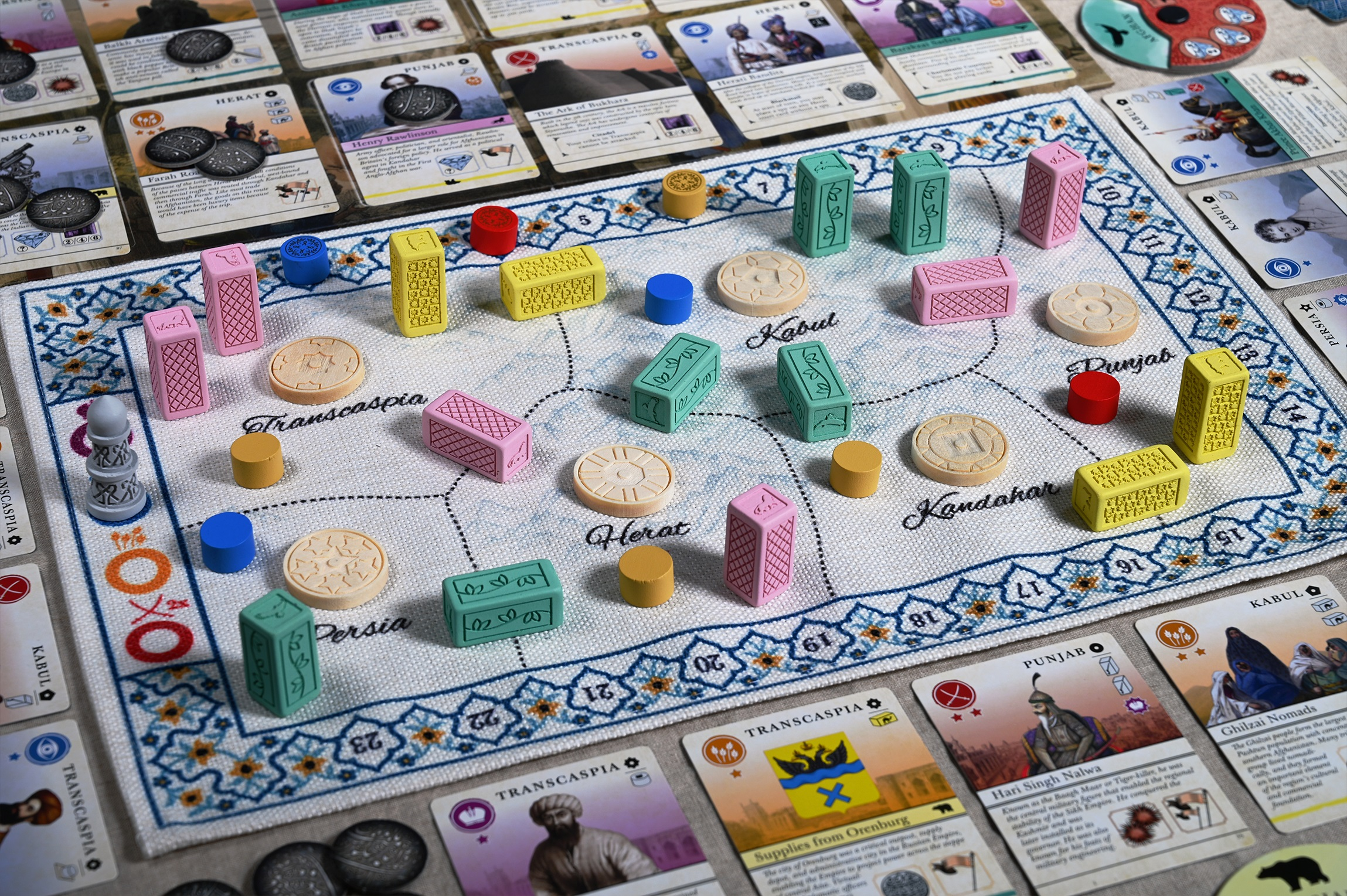 This board game has you play as Afghan leaders subverting imperialist ambitions