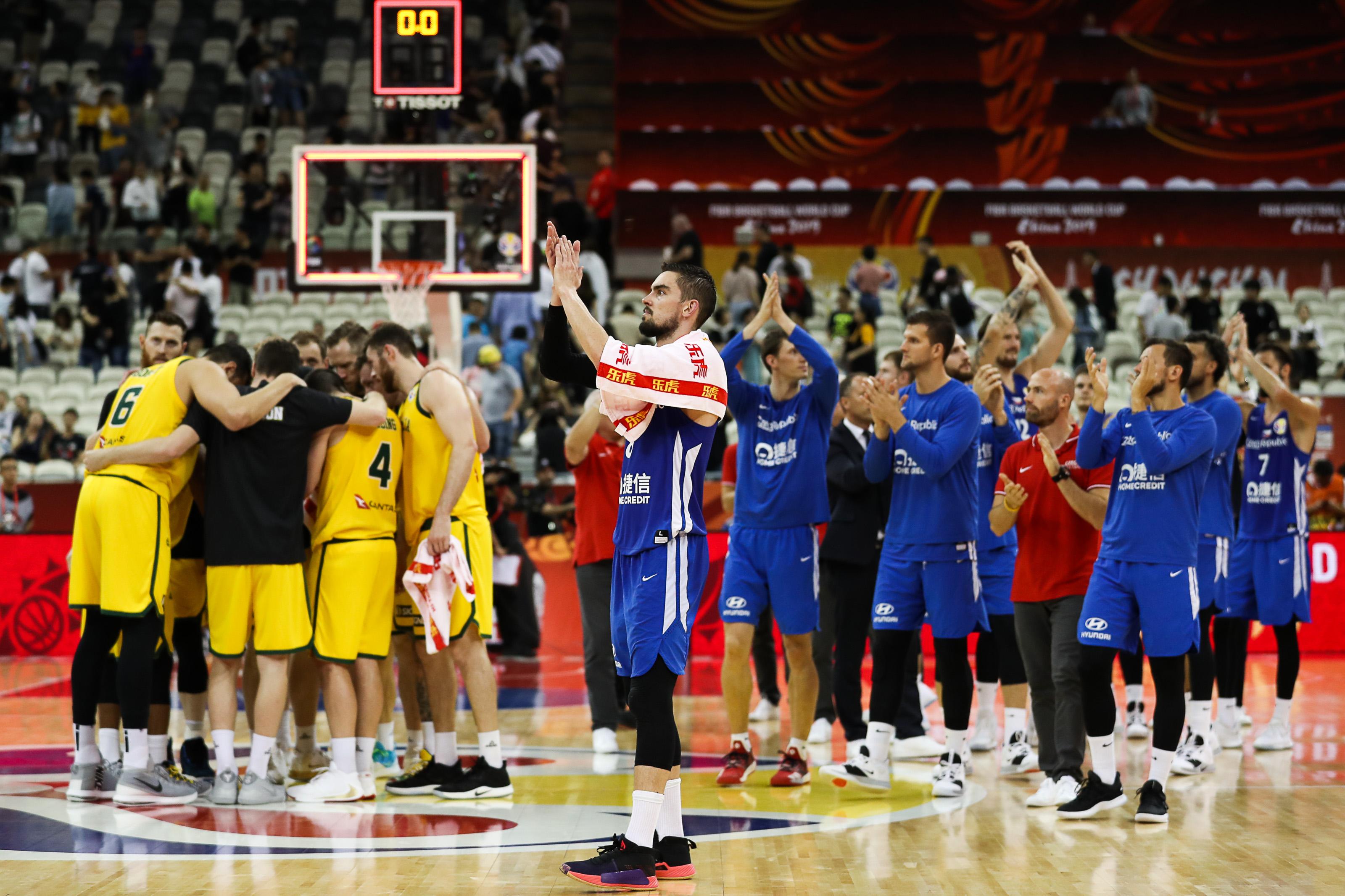 Australia v Czech Rep: Quarter Final - FIBA World Cup 2019