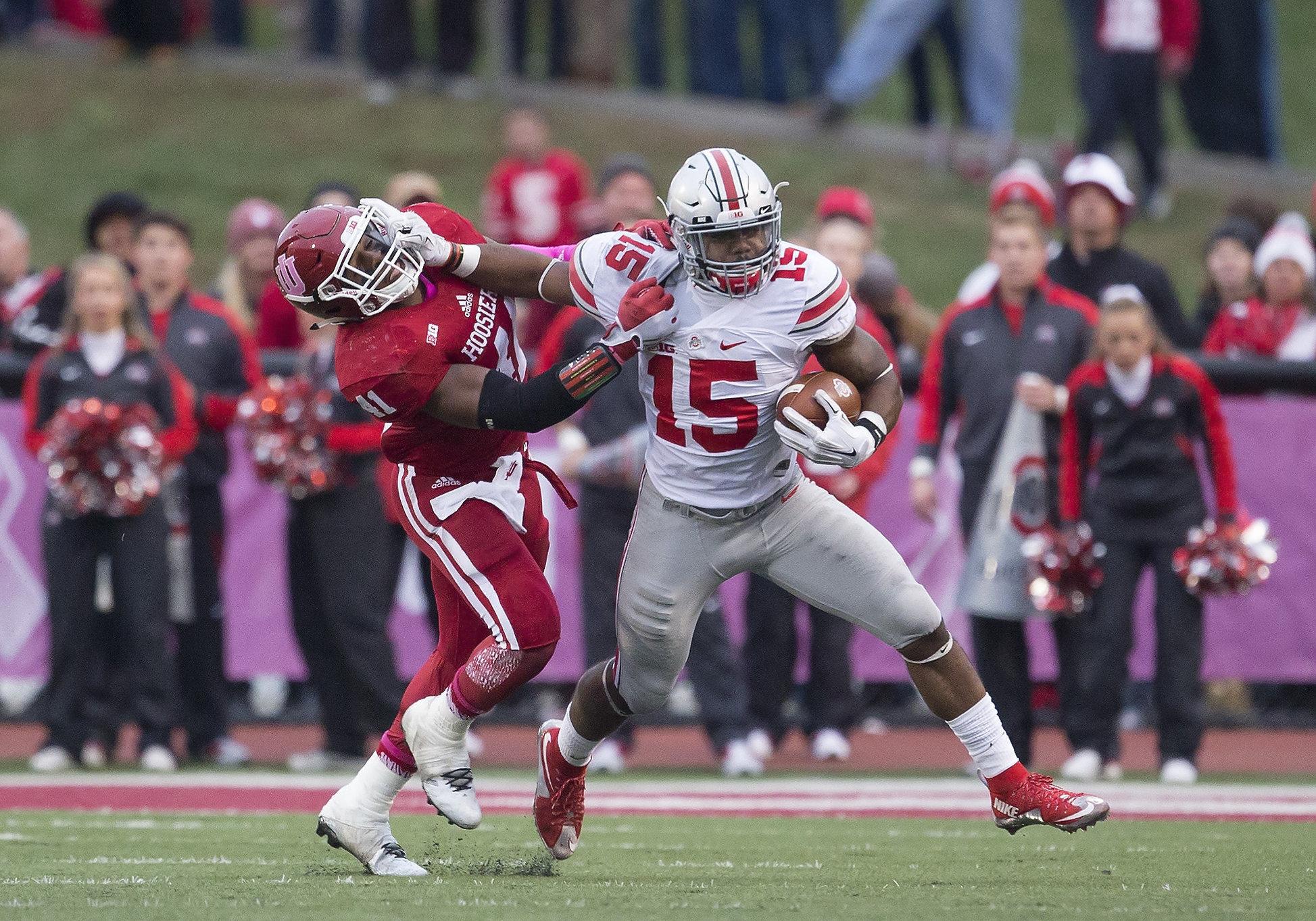 NCAA FOOTBALL: OCT 03 Ohio State at Indiana