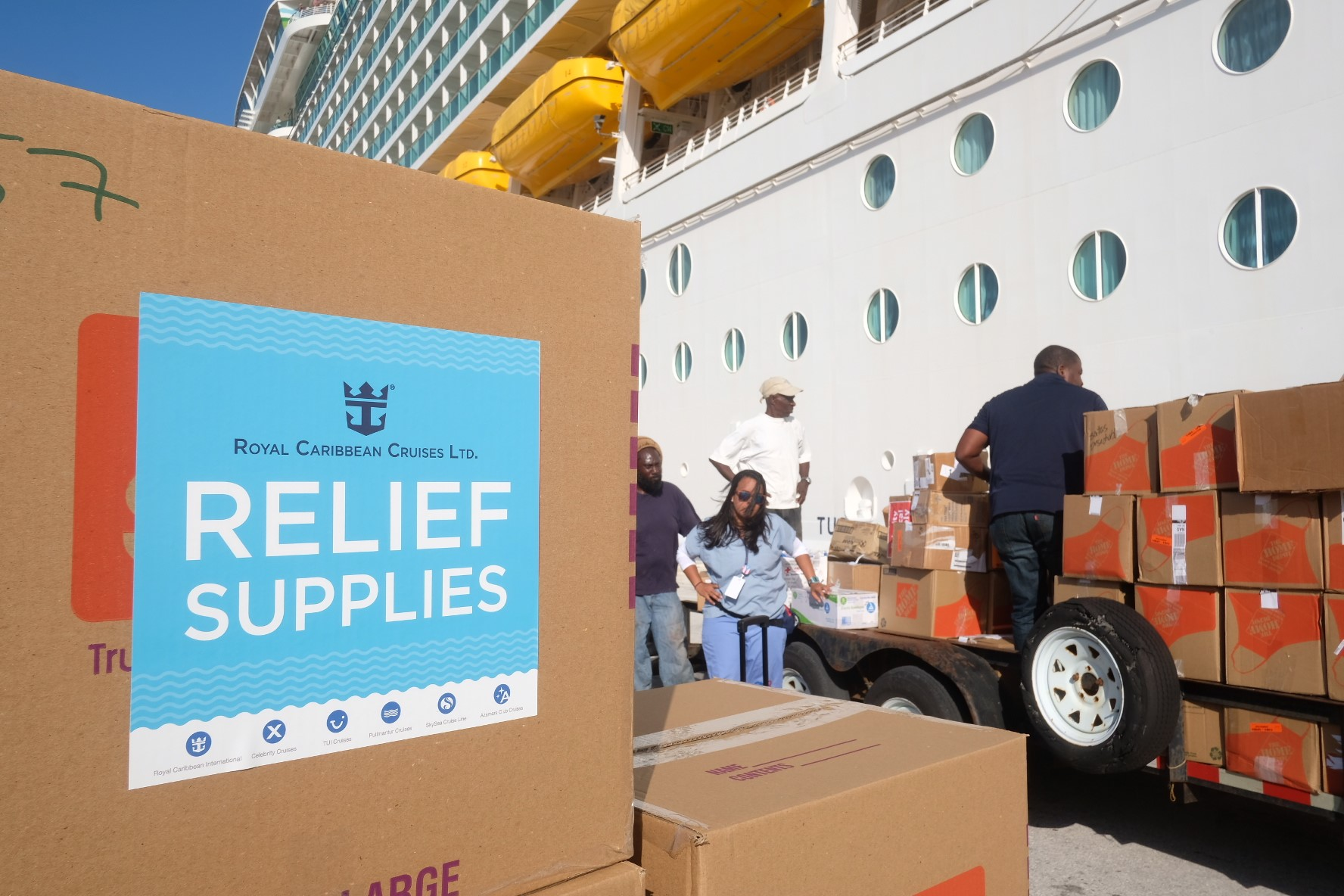 Bahamas Relief Effort Continues In The Aftermath Of Hurricane Dorian